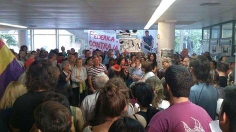 En libertad los 14 detenidos por ocupar un Centro de Especialidades en Vallecas