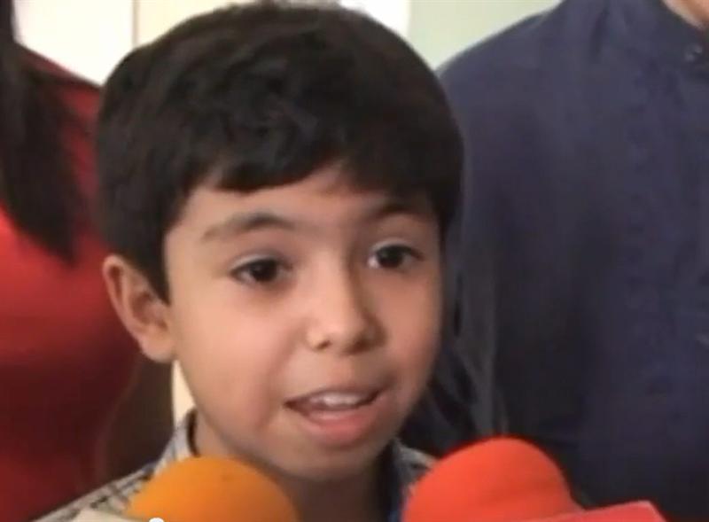 Un niño de 11 años está a punto de terminar el bachiller en México y entrar en Harvard