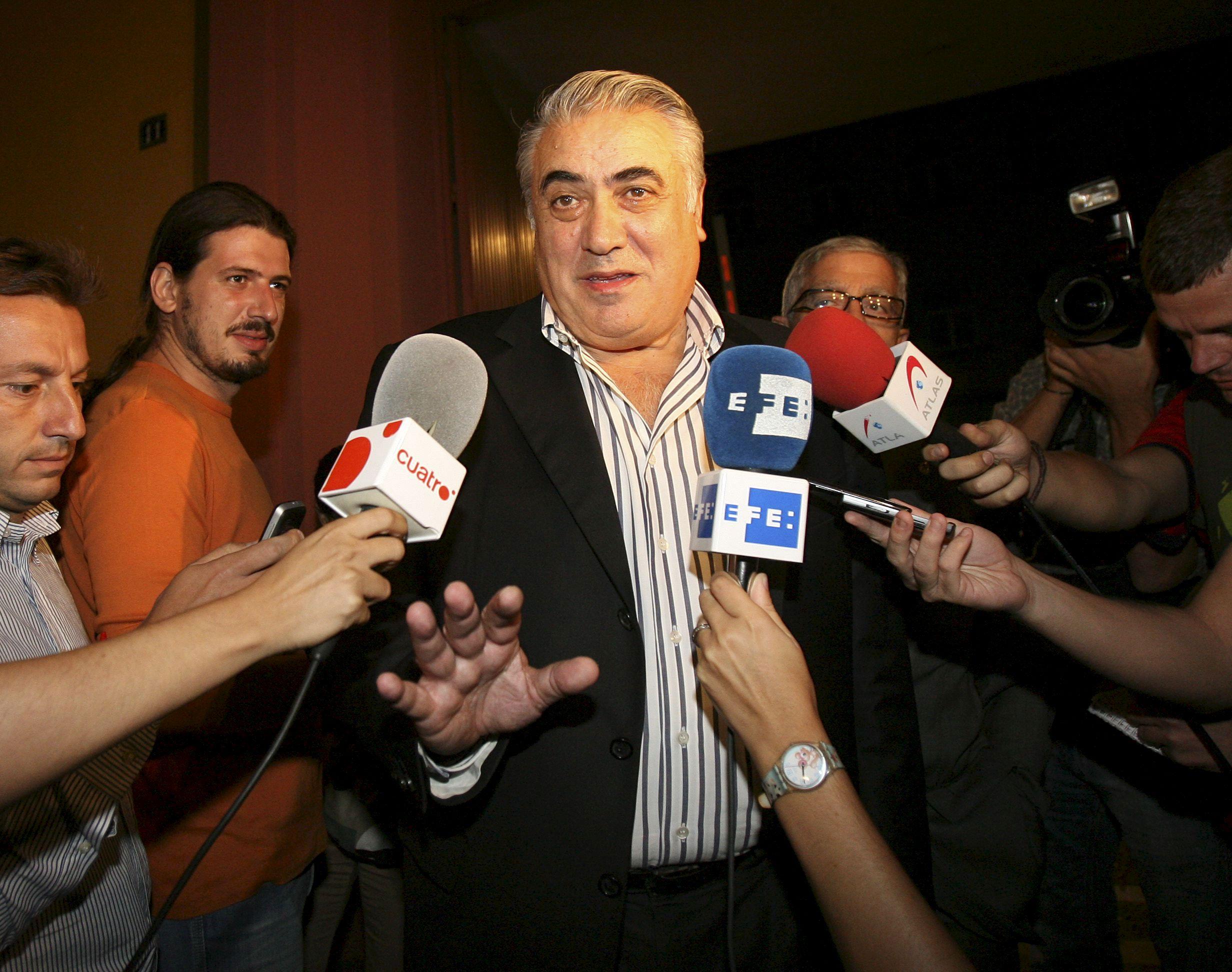 La Fiscalía pide seis años de prisión para Lorenzo Sanz por estafa