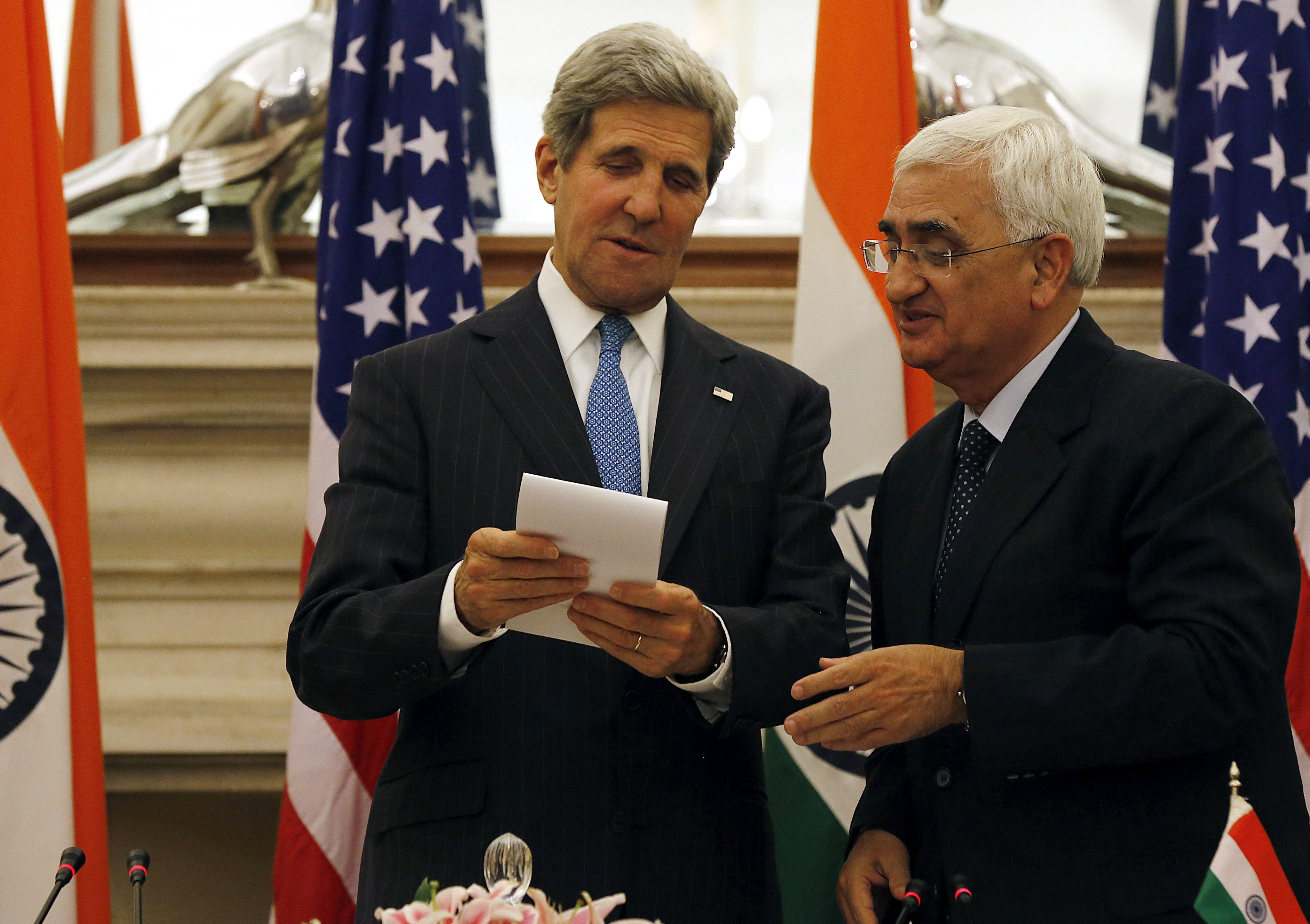 La India y EEUU abogan por limar sus diferencias para que la relación crezca