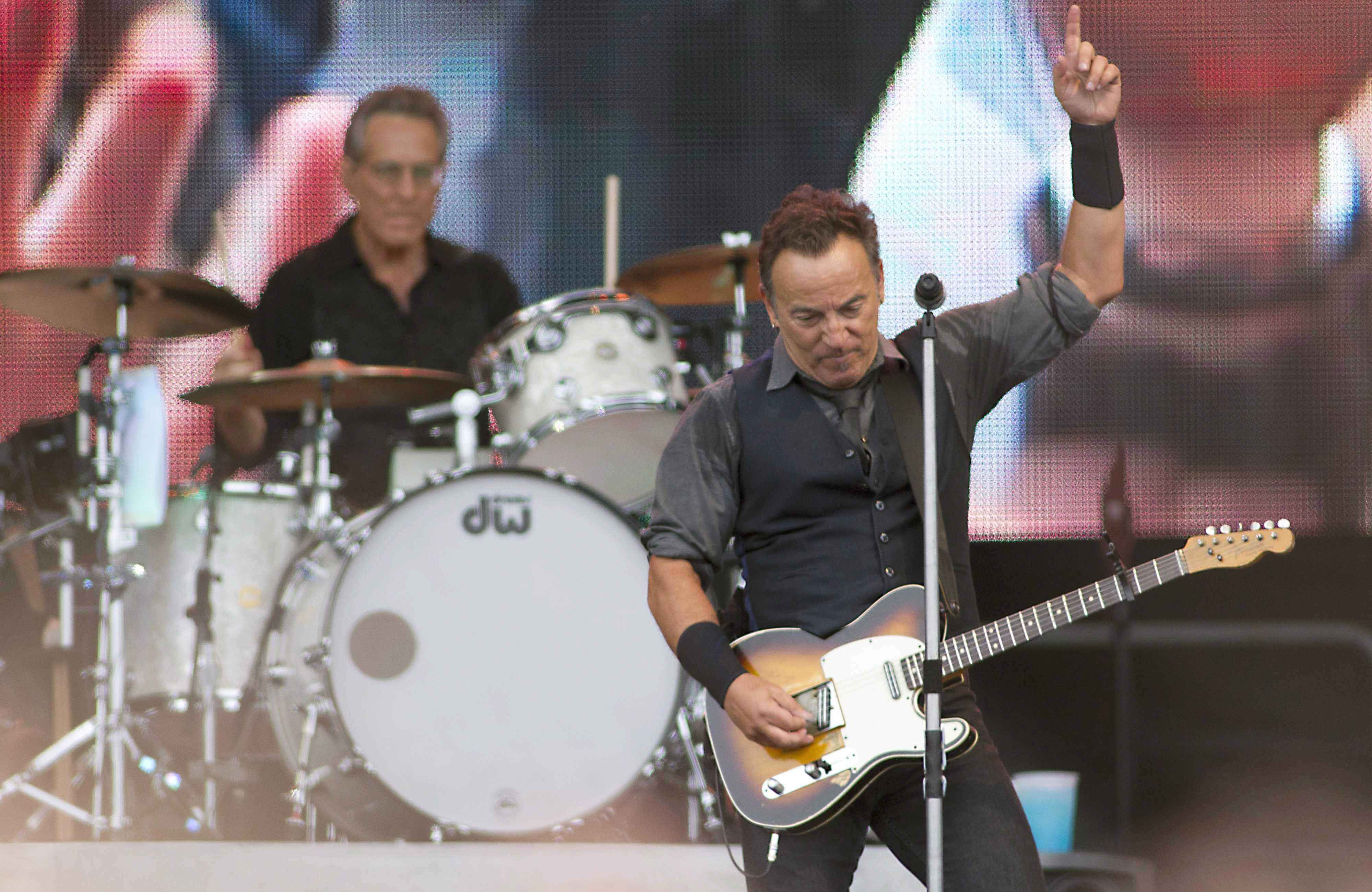 Springsteen descansa en San Sebastián antes del concierto de Gijón