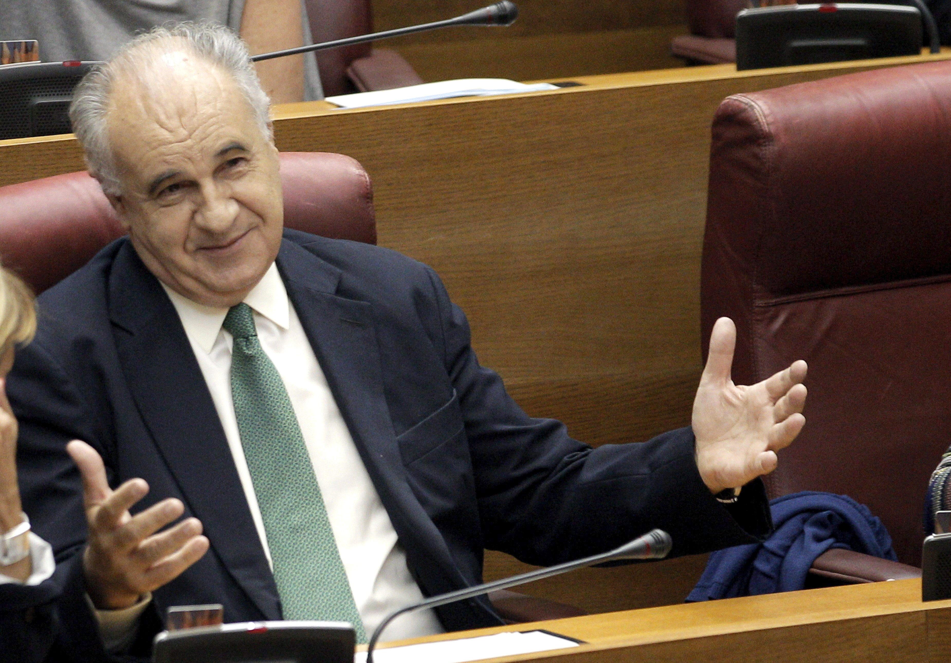 Blasco se pasa al grupo de no adscritos al no reunir apoyos para seguir en el PP