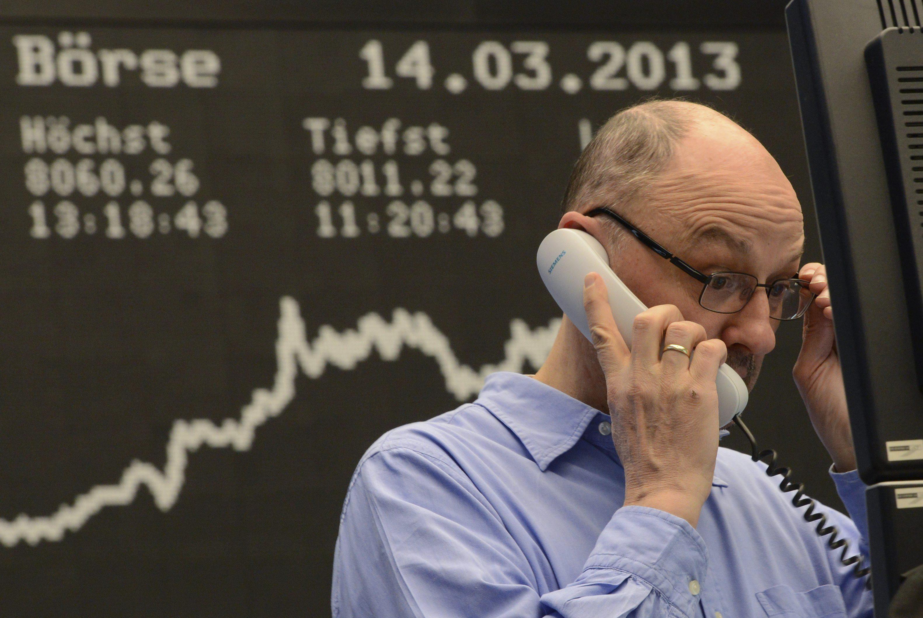 El Dax 30 alemán sube en la apertura un 0,49 por ciento, hasta los 7.730,26 puntos