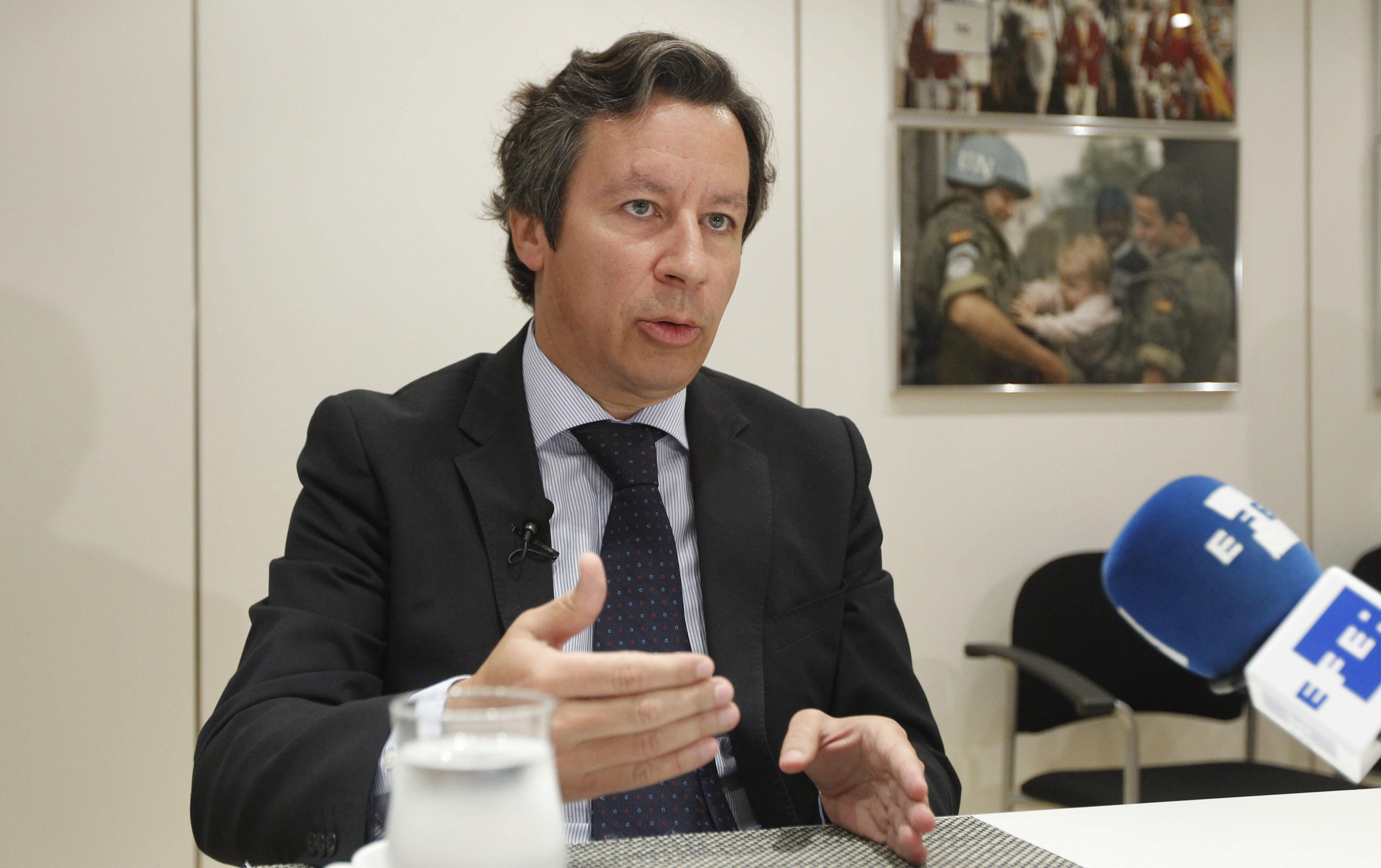 El PSOE replica a Floriano que el PP tiene un problema dentro: Luis Bárcenas