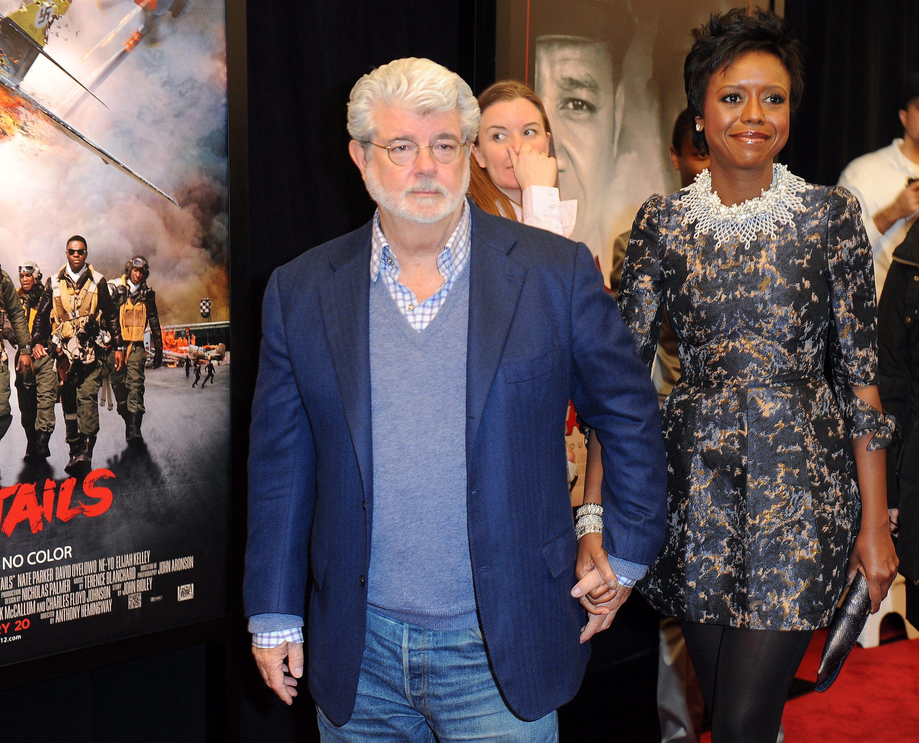 El creador de »Star Wars», George Lucas, se casa en el rancho Skywalker