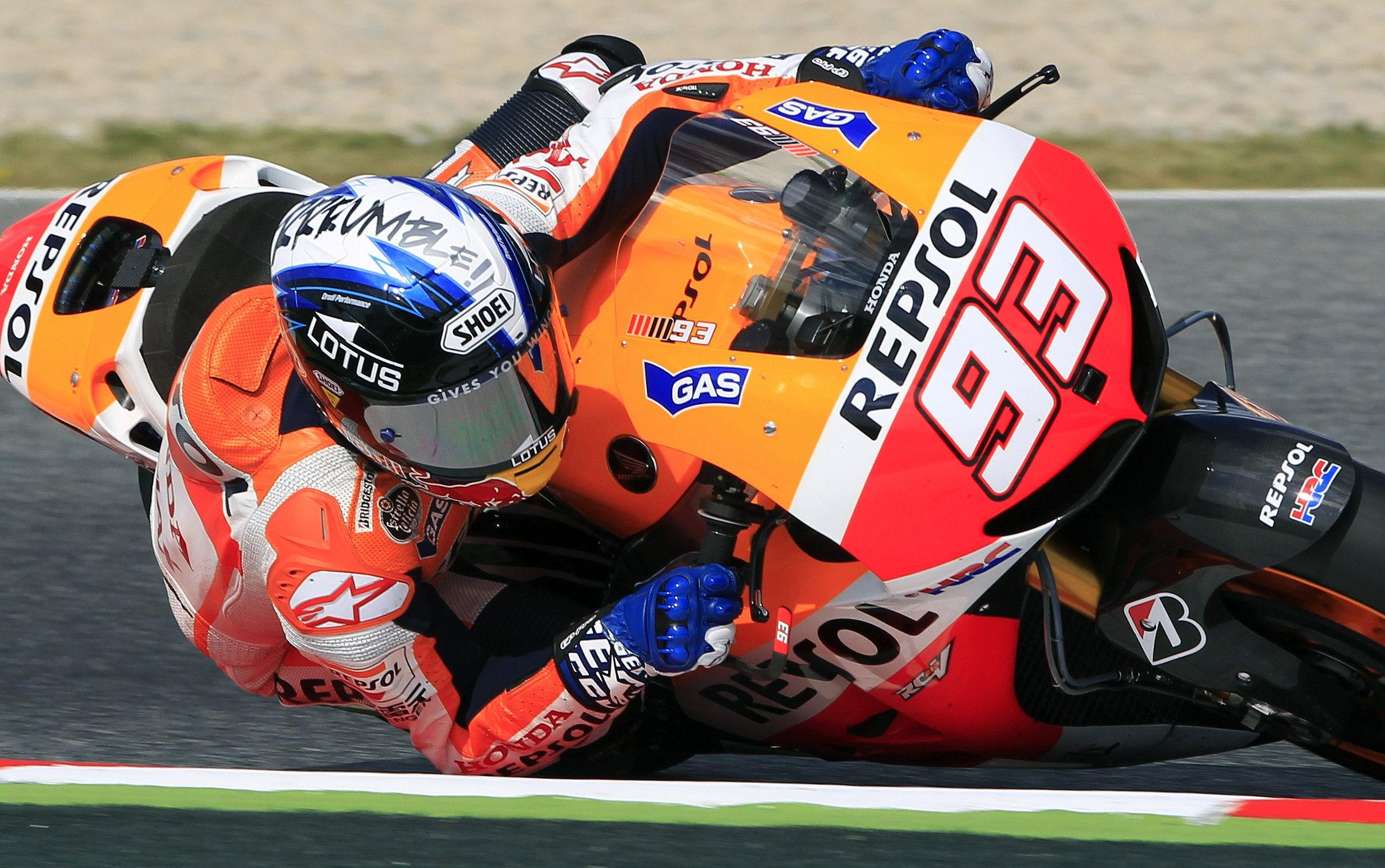 Márquez: «Me gusta el circuito y me siento muy bien en este momento»