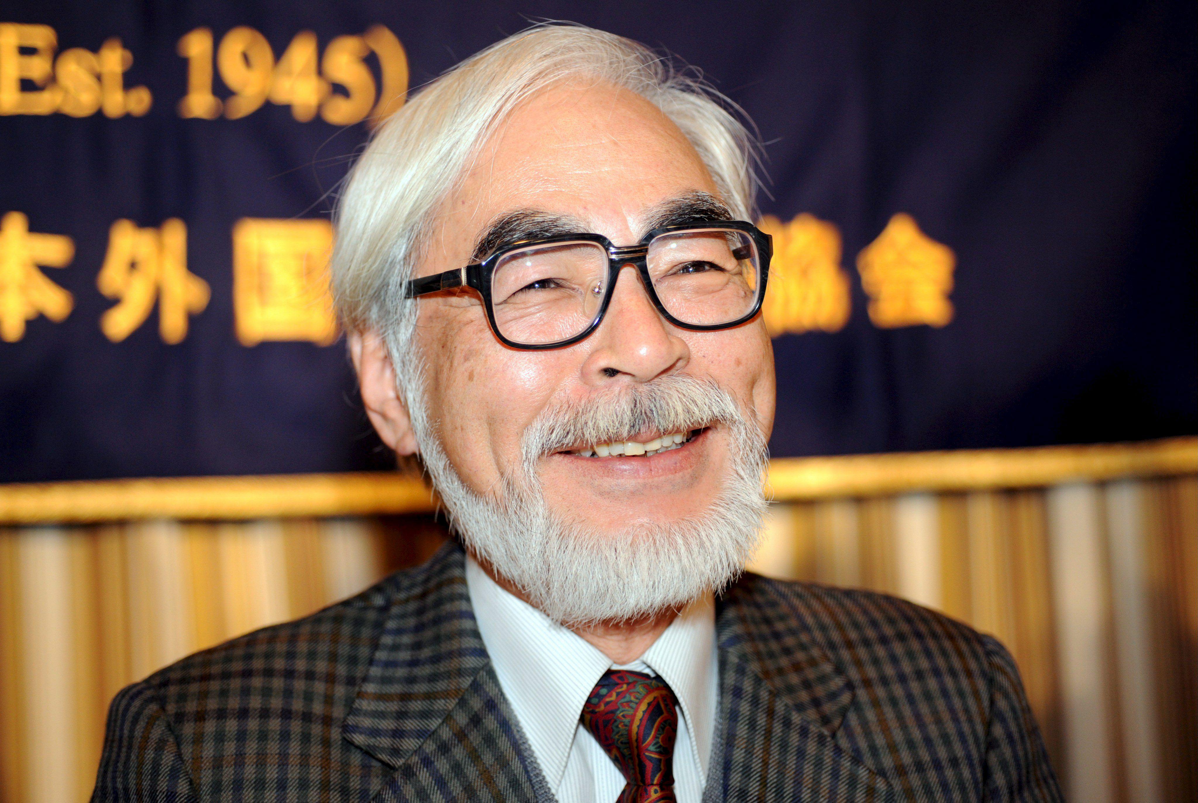 Miyazaki emocionado por su nueva película, fruto «del esfuerzo y la amistad»