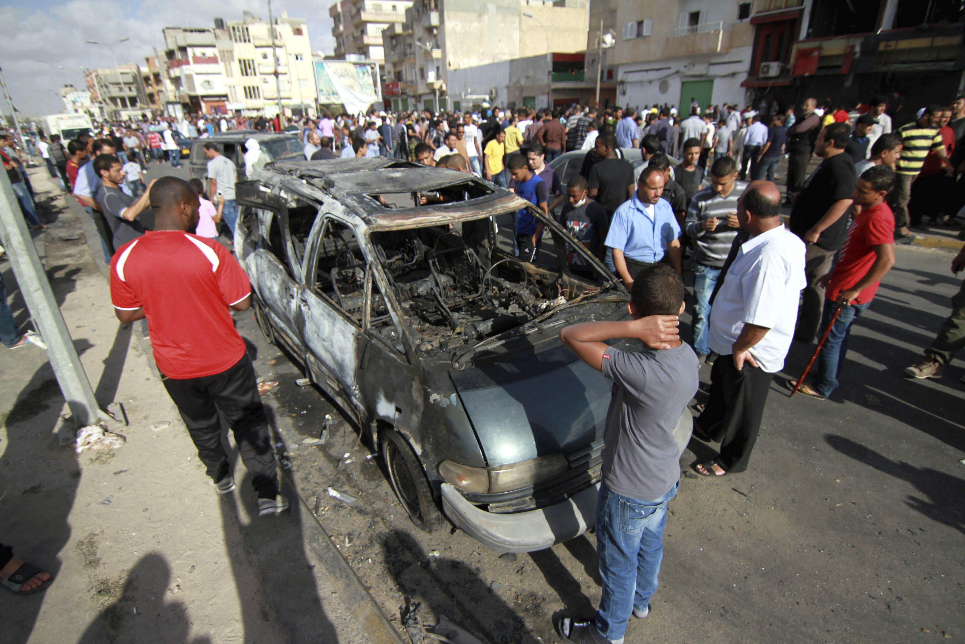 Mueren seis soldados libios en un ataque armado en Sirte