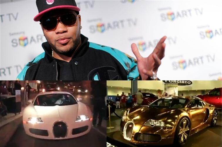 Flo Rida baña su Bugatti Veyron en oro de 24 quilates