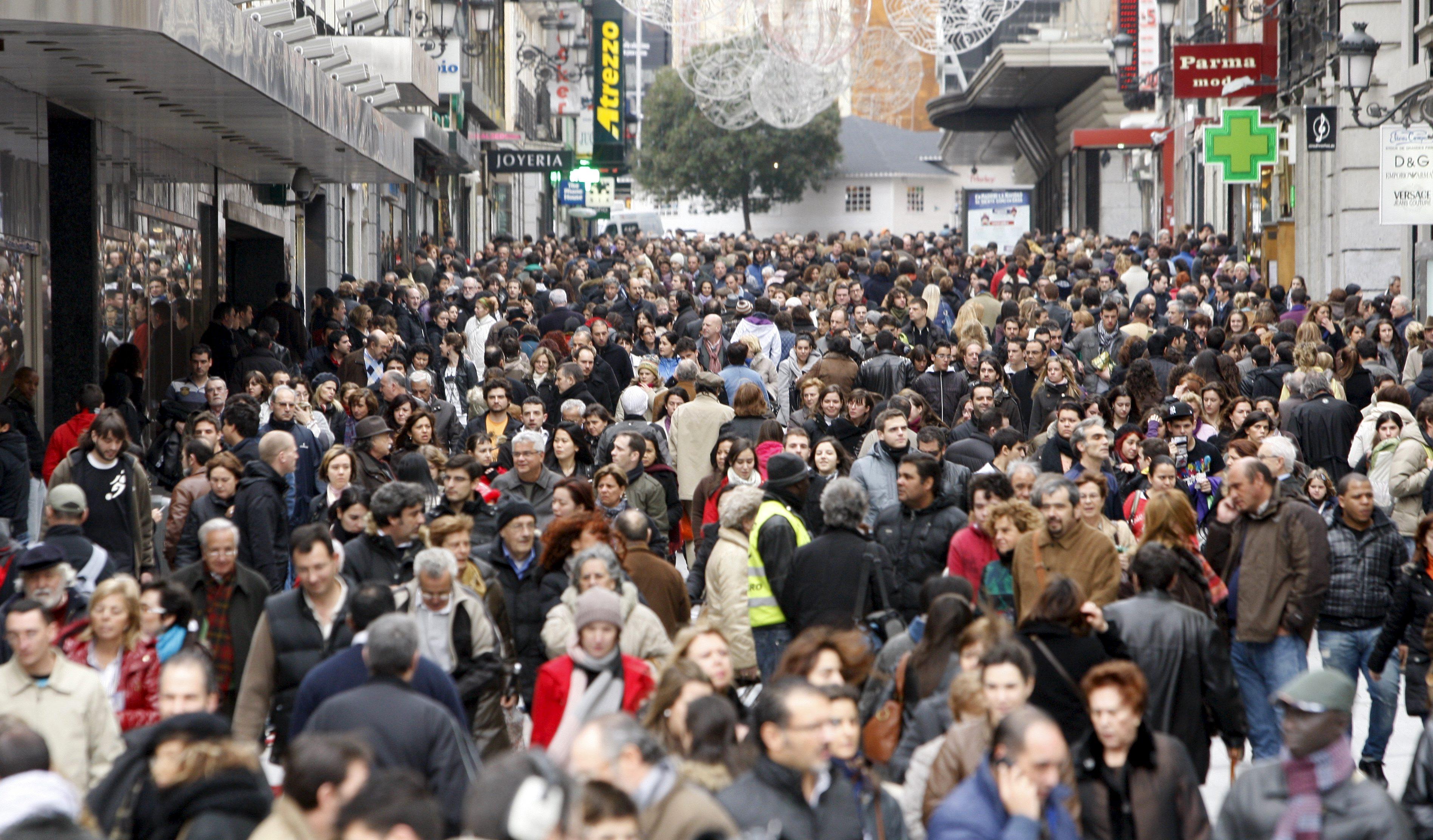 La población sólo aumentó en 2012 en Andalucía, Canarias y Baleares