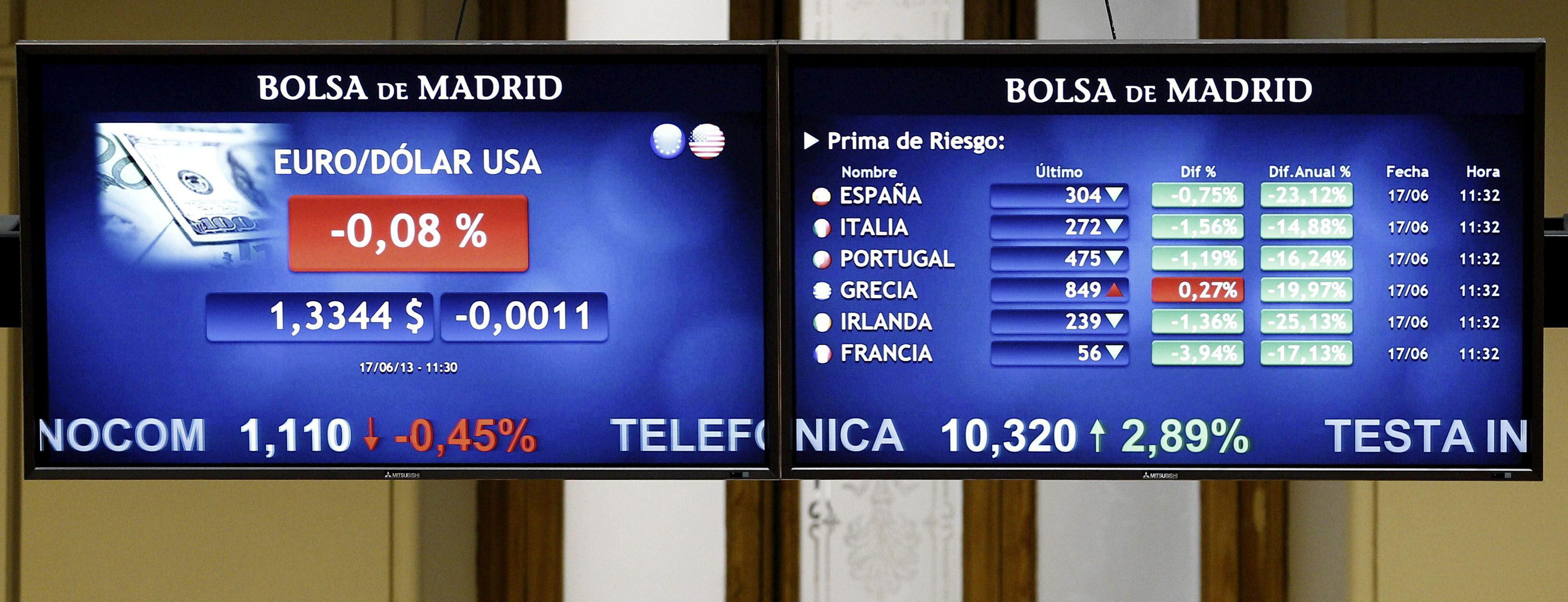La prima de riesgo española abre sin cambios, en 331 puntos básicos
