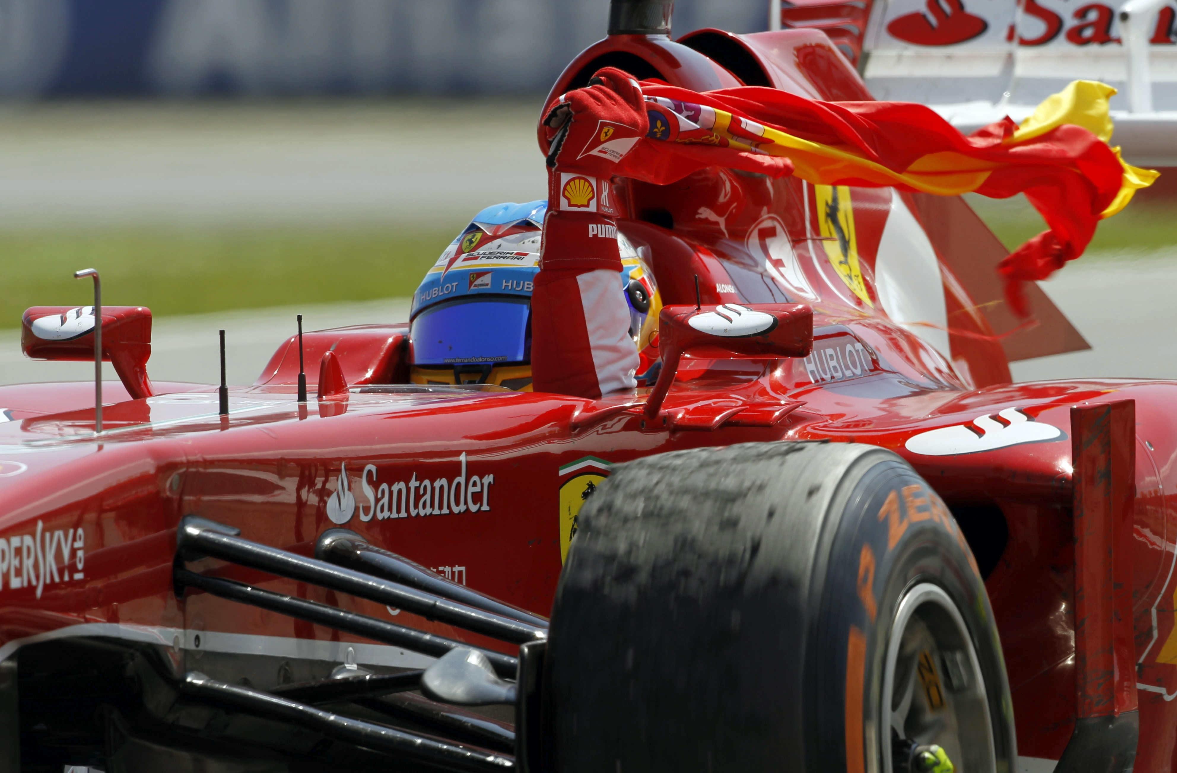 Alonso quiere recurrir al »espíritu de Valencia 2012»