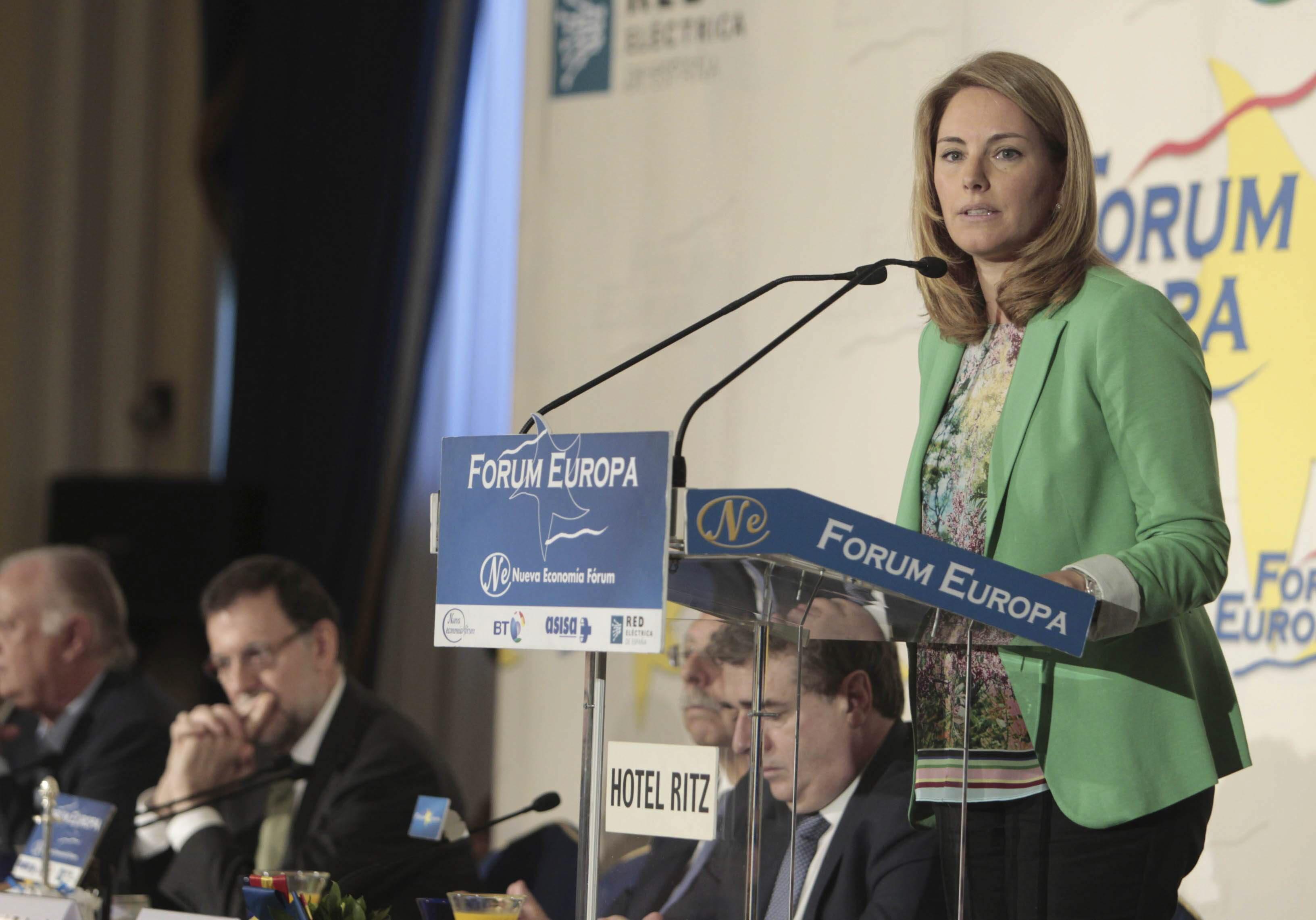 Arantza Quiroga considera «insoportable y obscena» la corrupción política