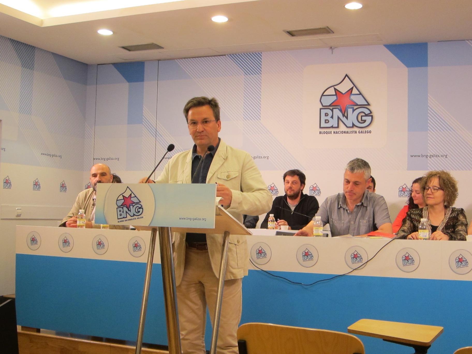 El BNG acusa al PP de «intenta ocultar» que Feijóo «conocía» la colocación de preferentes e indemnizaciones