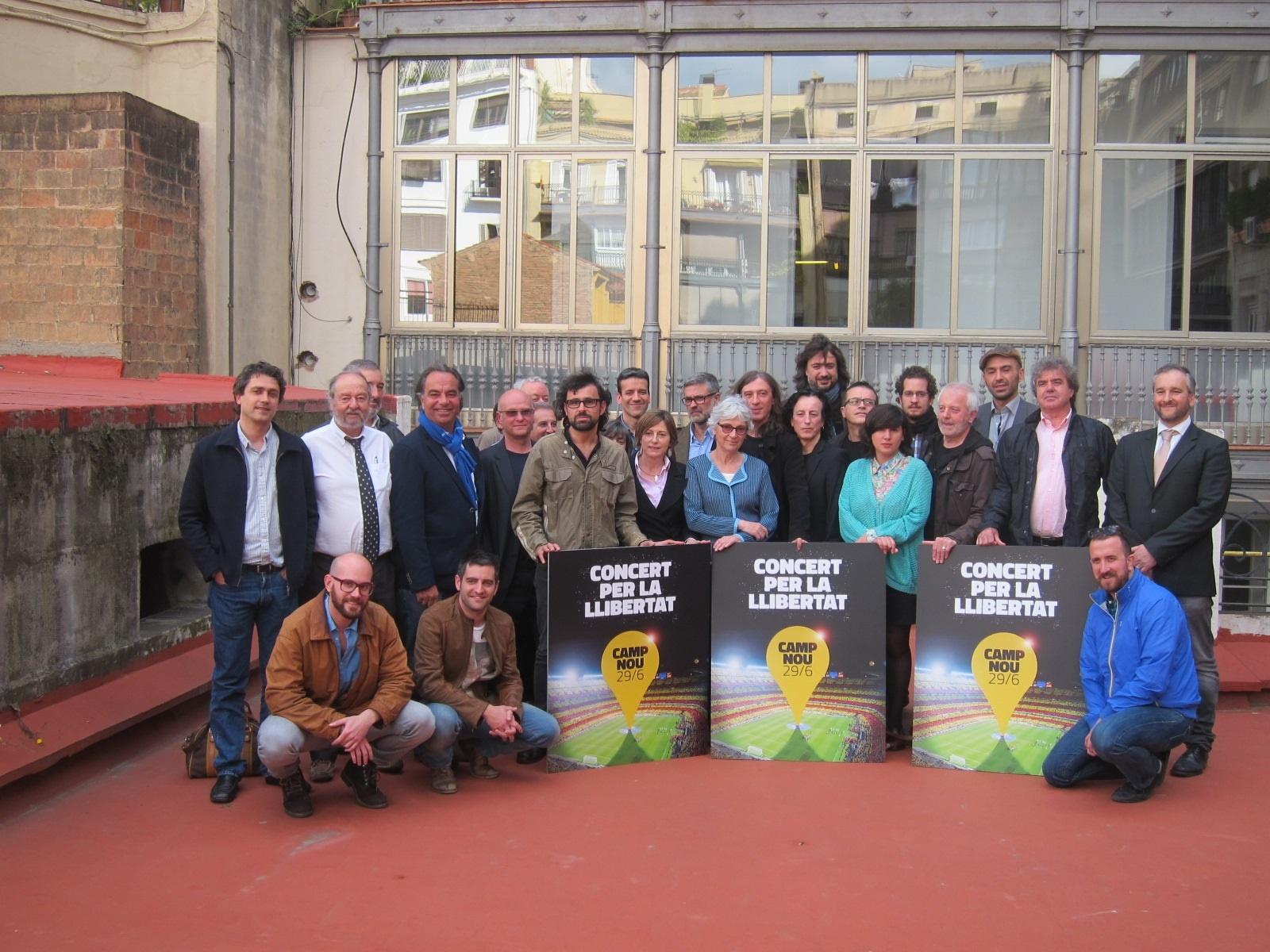 Camacho (PP) asegura que el Concert per la Llibertat fomenta «la exclusión y la división»