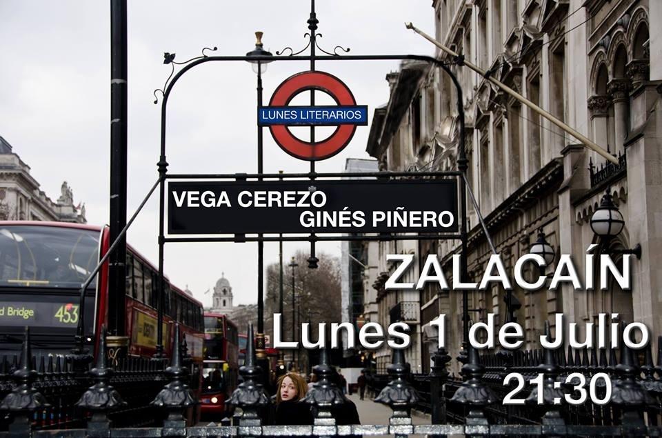 La poeta Vega Cerezo y el cantautor Ginés Piñero ofrecen este lunes en el Café Zalacaín un recital poético-musical