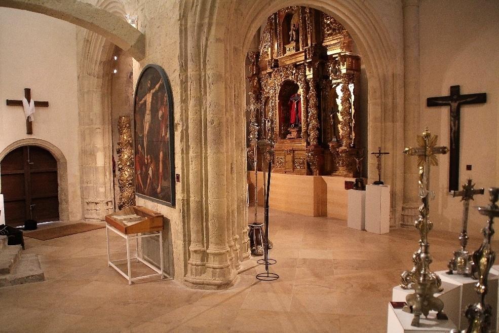 El Museo de San Francisco de Medina de Rioseco (Valladolid) prorroga »Crucifixus» hasta el 25 de agosto