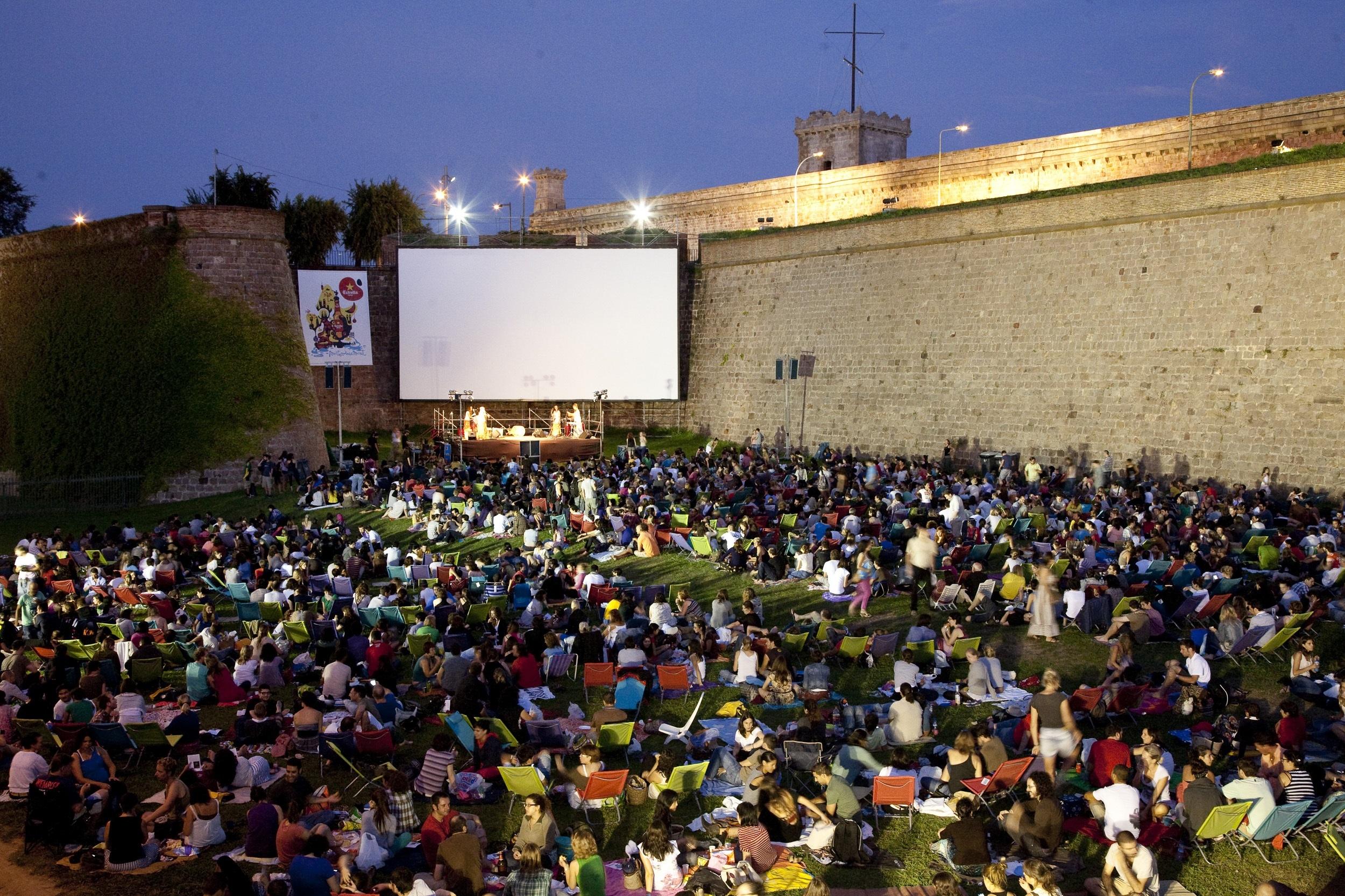El Castillo de Montjuïc se convierte en una sala de cine al aire libre desde este domingo