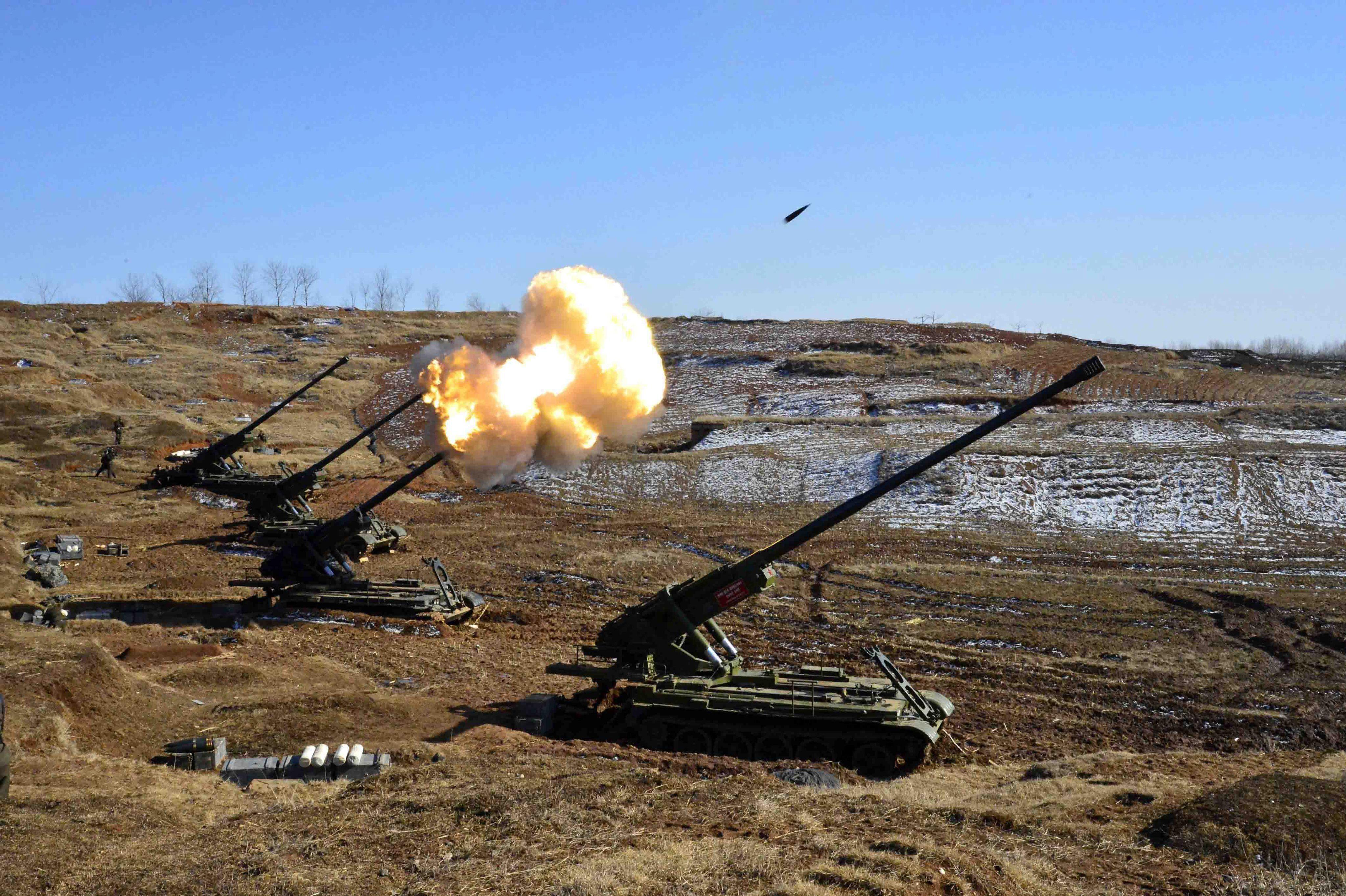 Seúl denuncia que Corea del Norte ha aumentado el alcance de su artillería