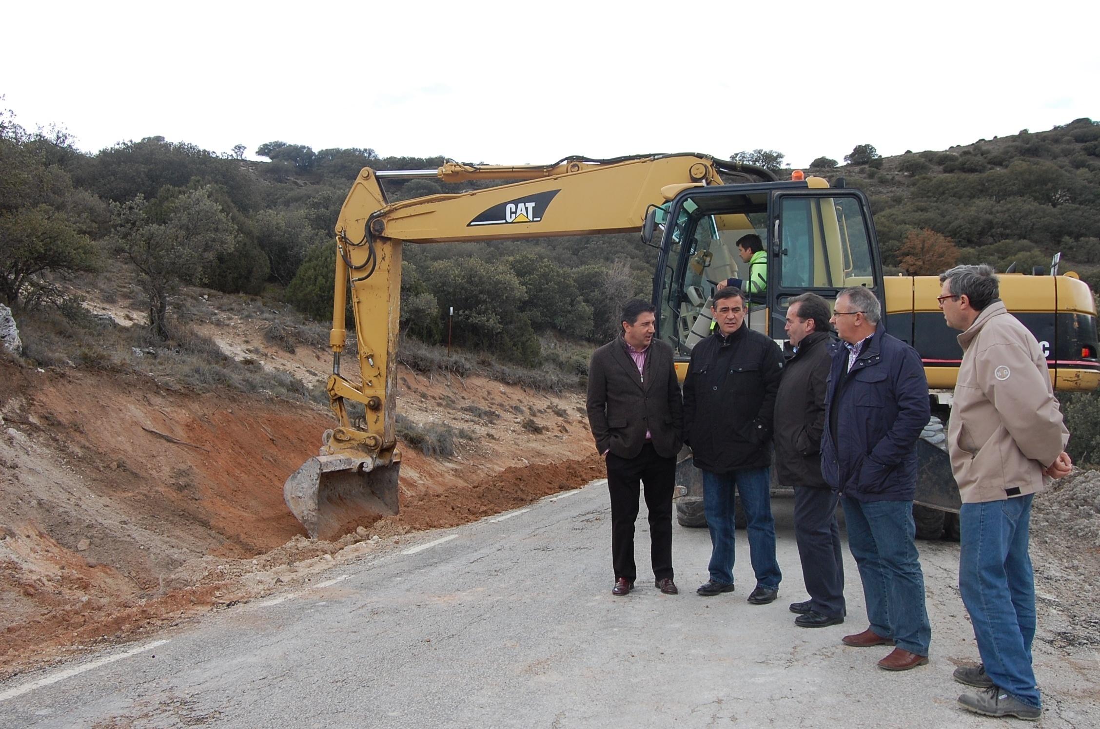 La Diputación de Soria finaliza las obras en la carretera que une Utrilla con varias localidades