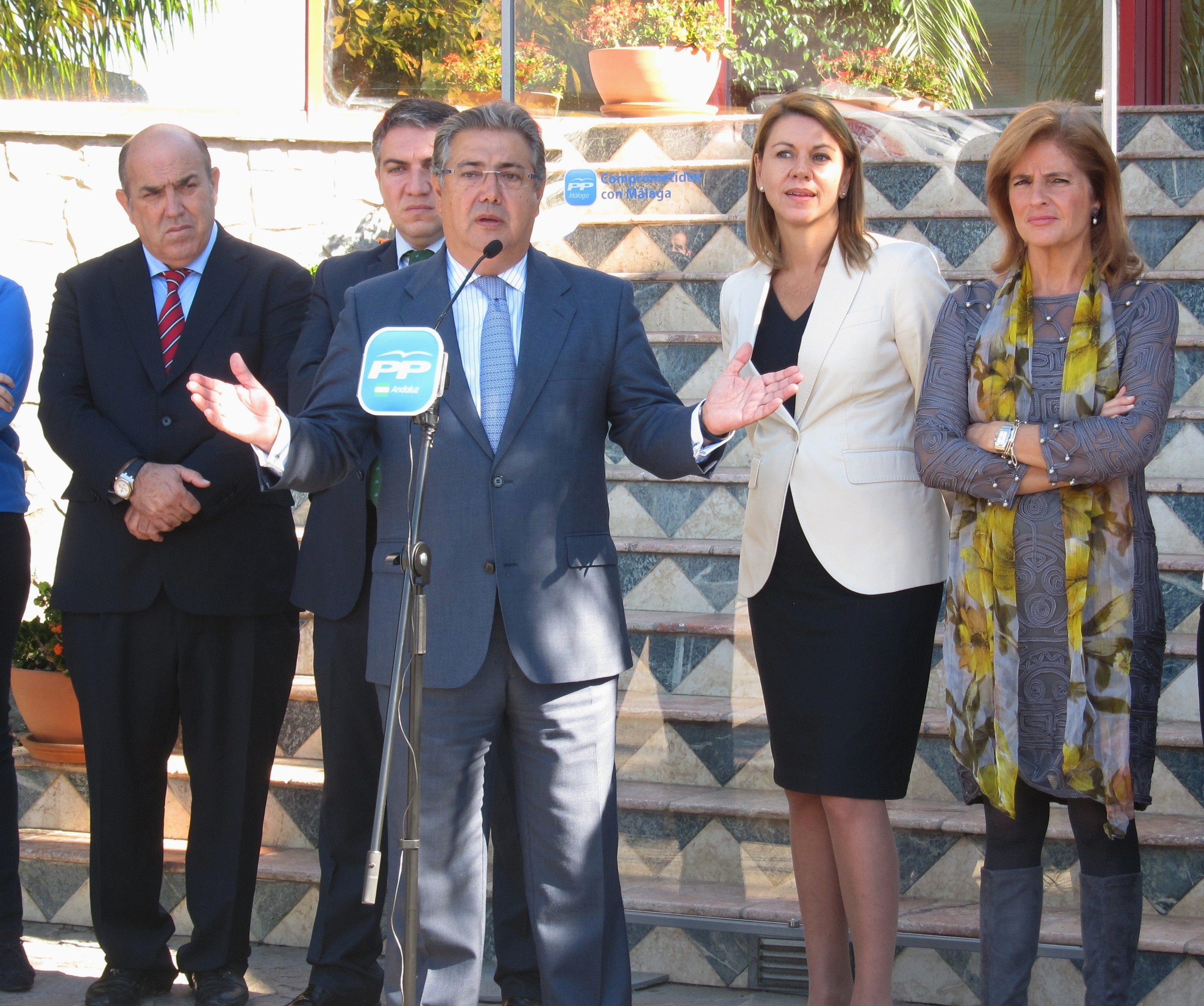 Dirigentes del PP piden adelantar la designación del candidato en Andalucía por si Griñán anticipa las elecciones