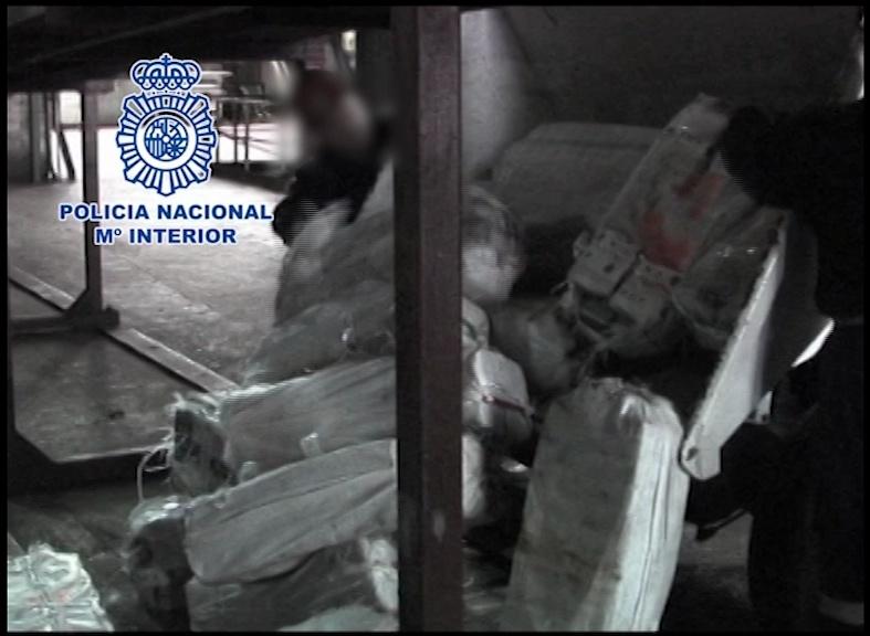 Incinerados los más de 3.400 kilos de cocaína incautados en la Operación Albatros
