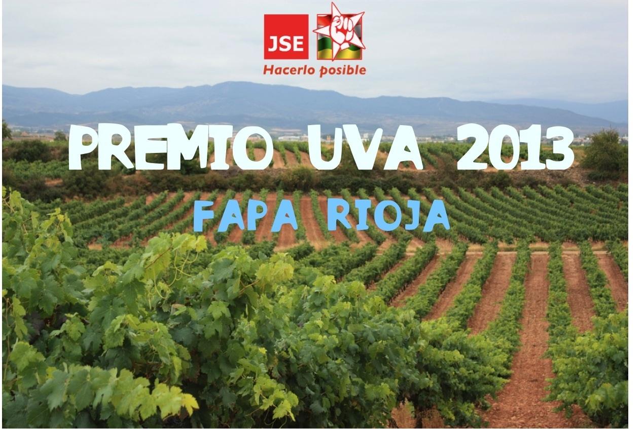 Juventudes Socialistas de La Rioja entrega los Premios Uva y Raspón a la mejor y peor actuación política riojana del año