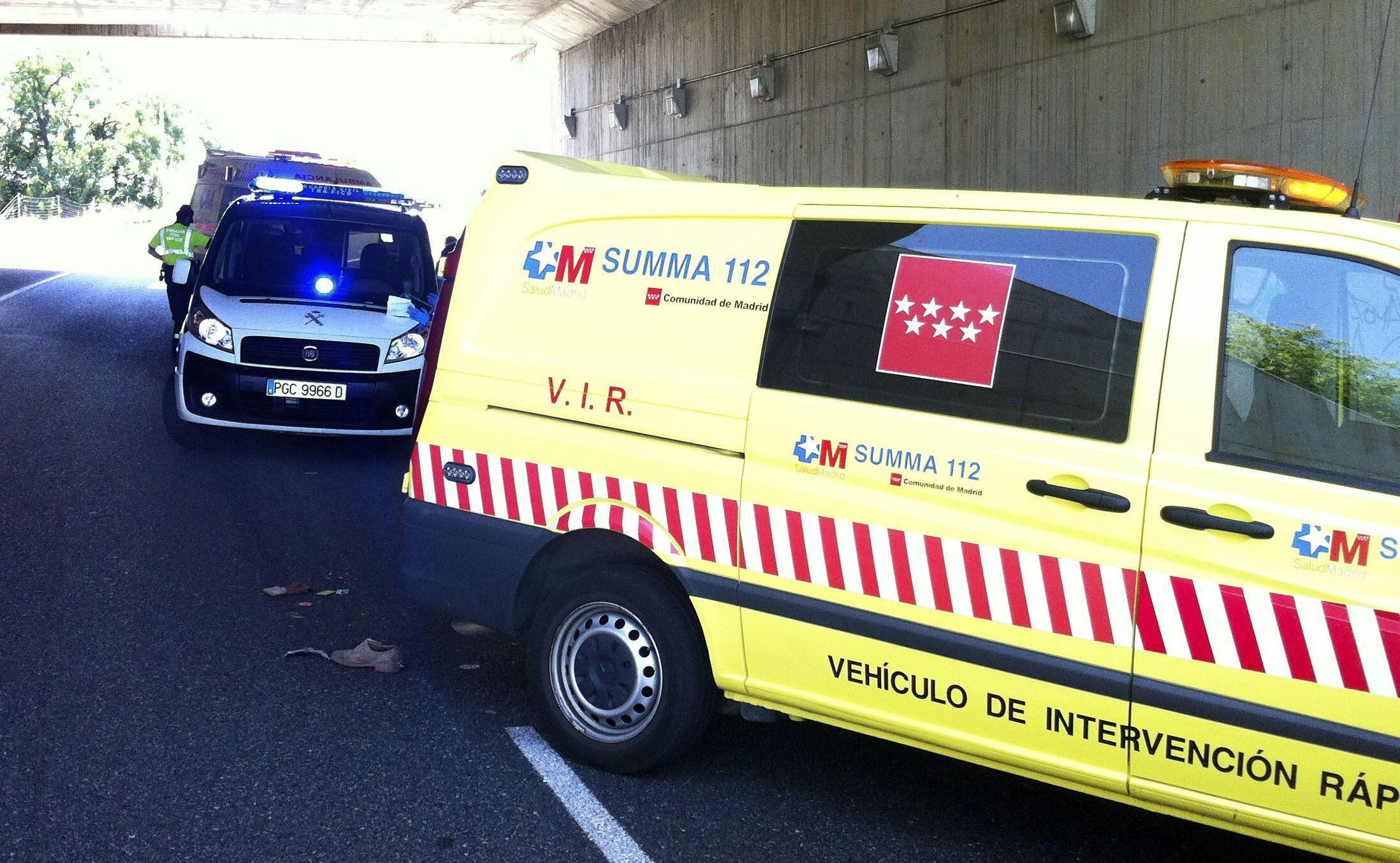 Muere un ciclista atropellado por un turismo en San Fernando de Henares