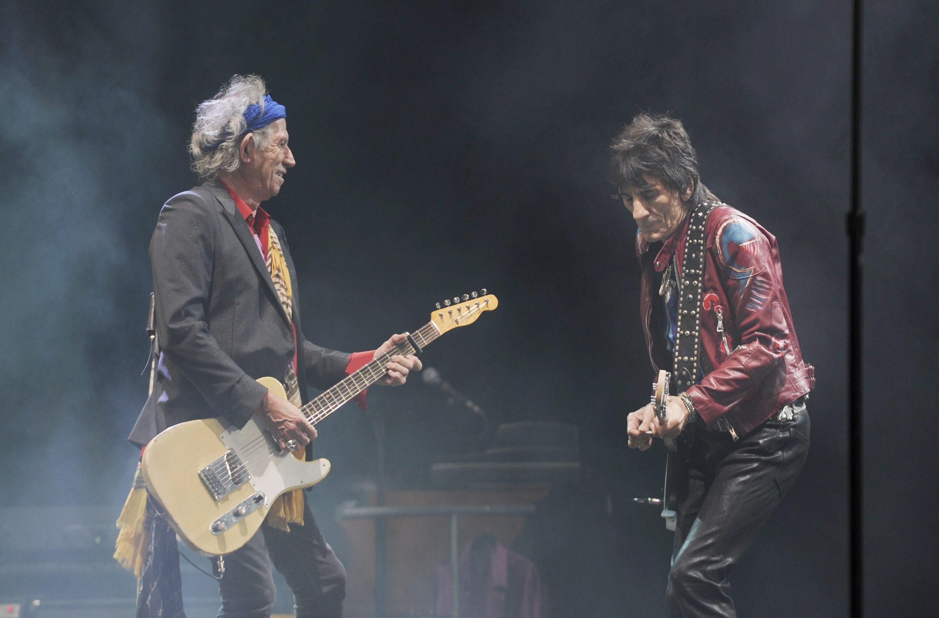 Los Rollings Stones, aclamados y rejuvenecidos en su debut en Glastonbury