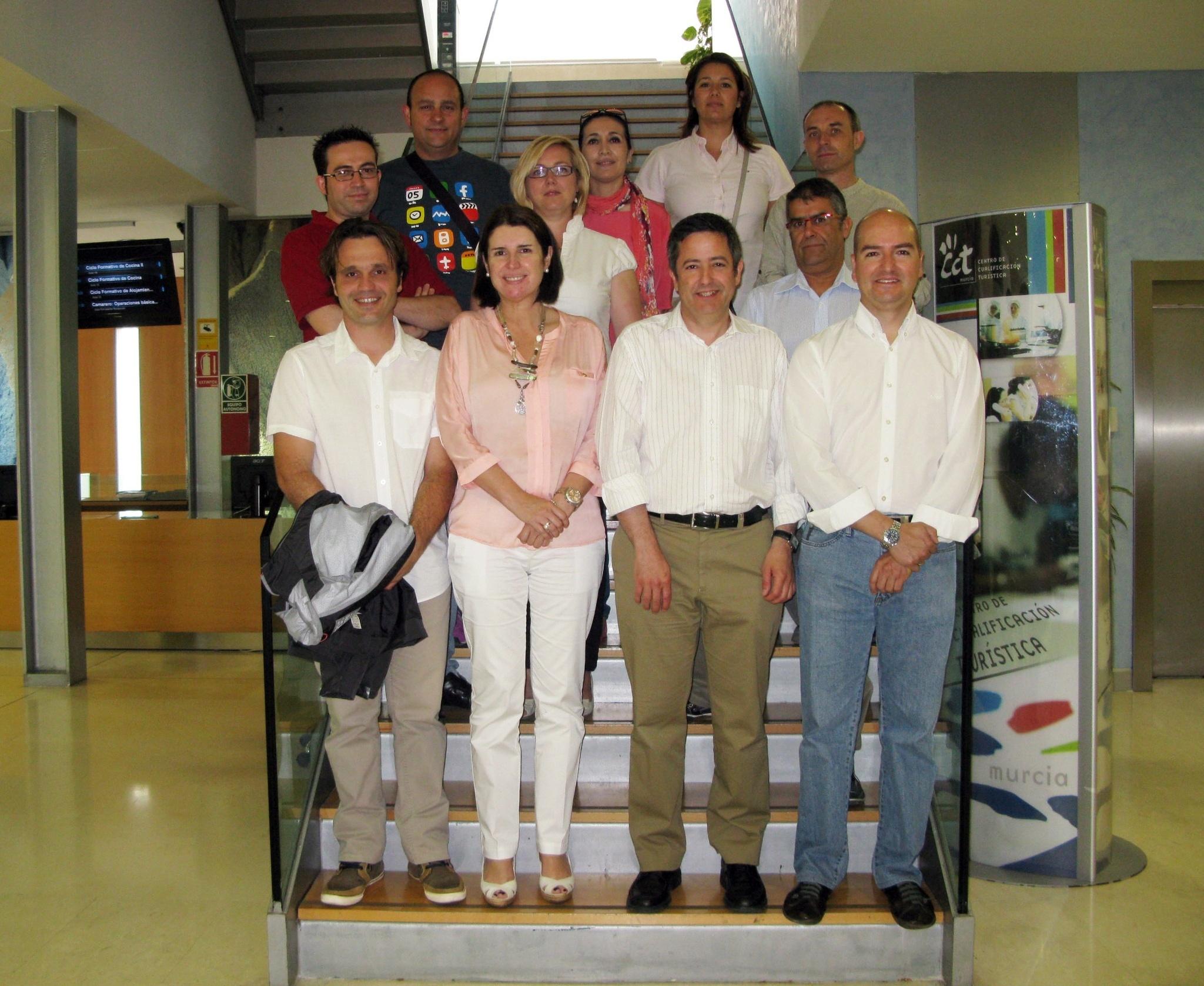 Turismo y empresarios de la Región de Murcia trabajan para impulsar el desarrollo del catering en Europa