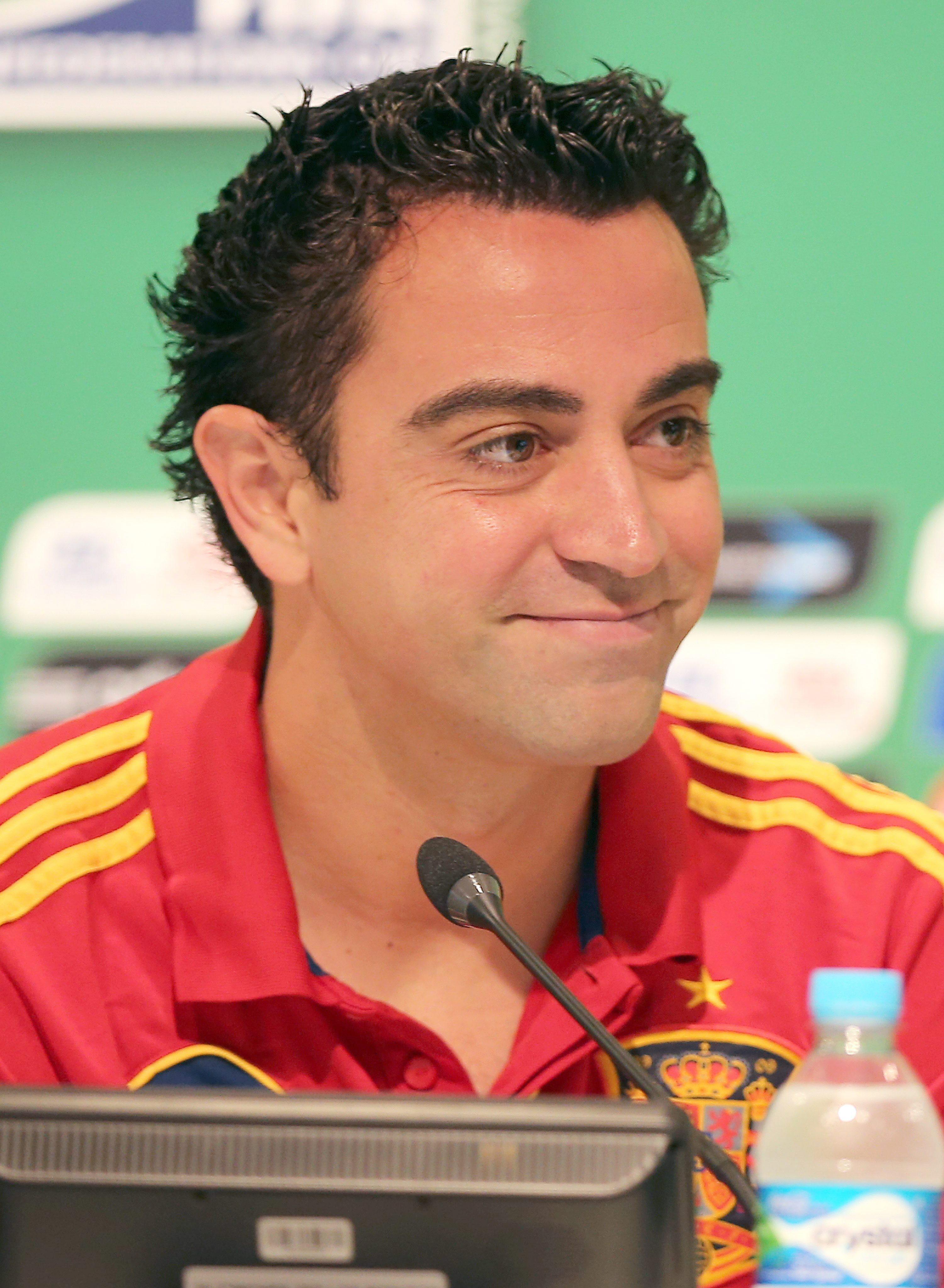 Xavi reconoce que «si pudieras elegir un partido, sería ante Brasil en Maracaná»