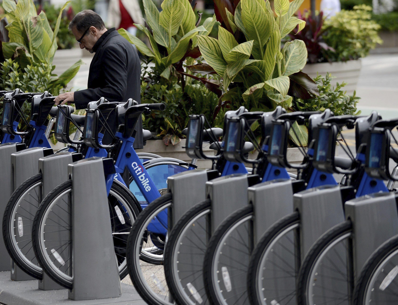 Las bicicletas son para el verano en Nueva York