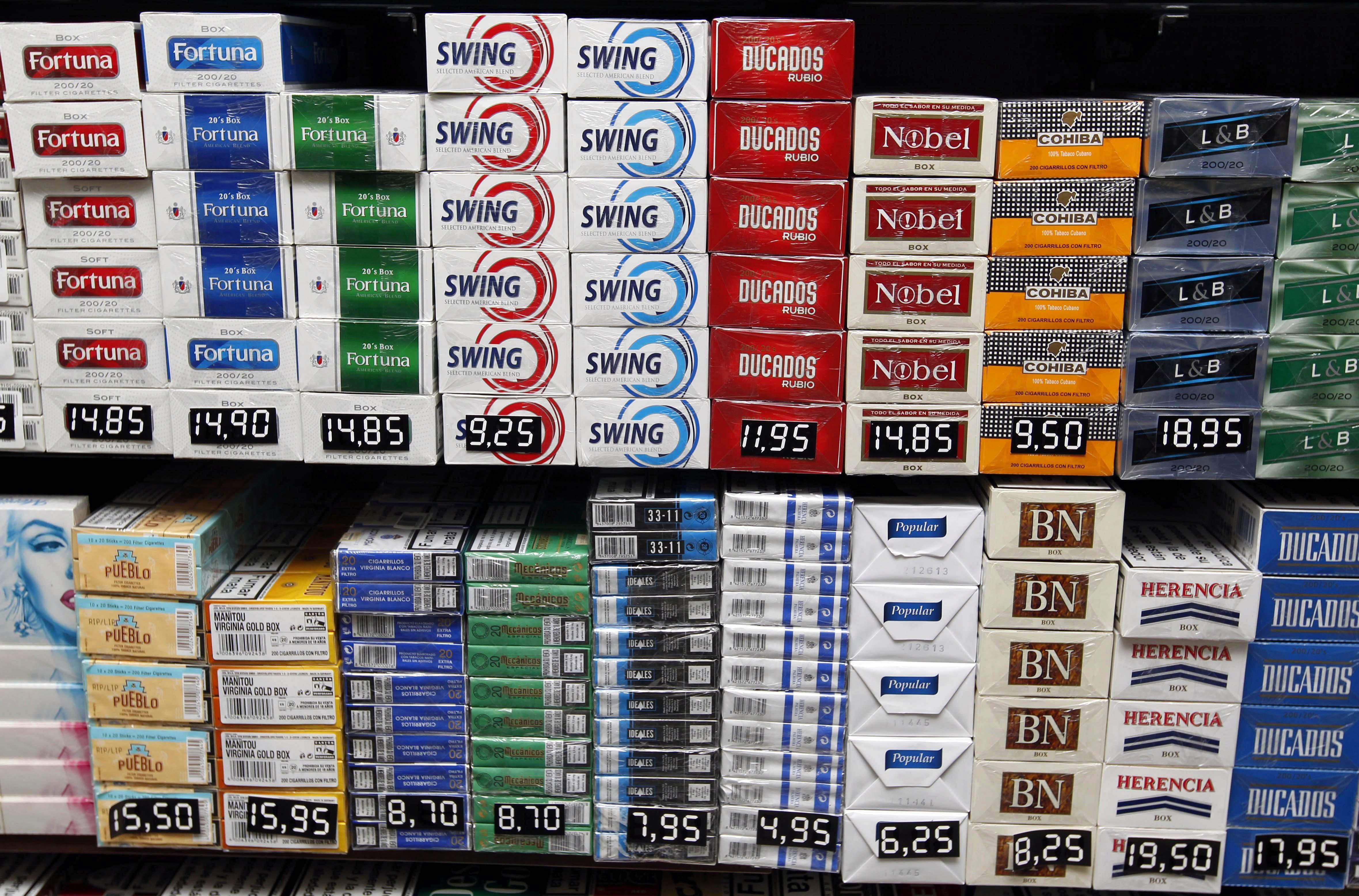 Entra en vigor la subida de impuestos al alcohol y tabaco