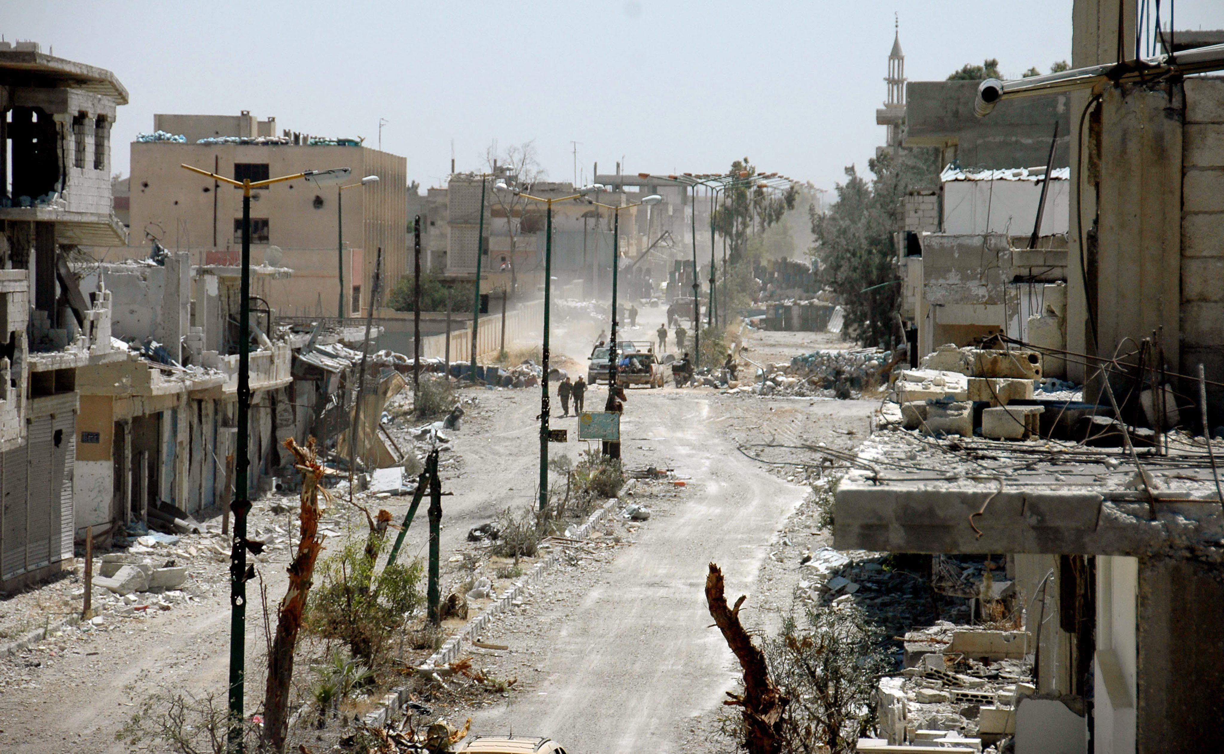 La oposición siria advierte de que el régimen puede usar armas químicas en Homs