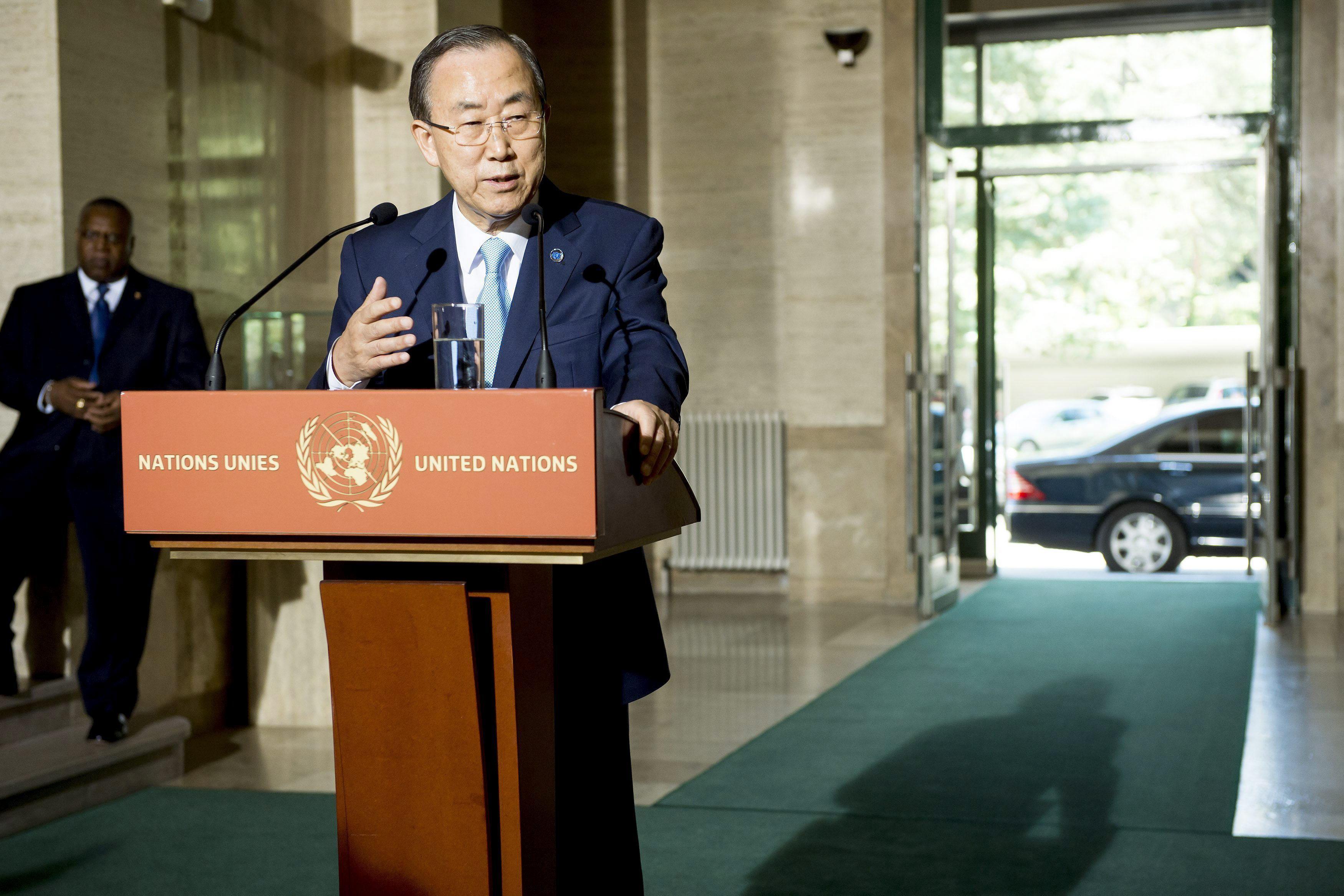Ban Ki-moon confirma los obstáculos a la conferencia de paz para Siria