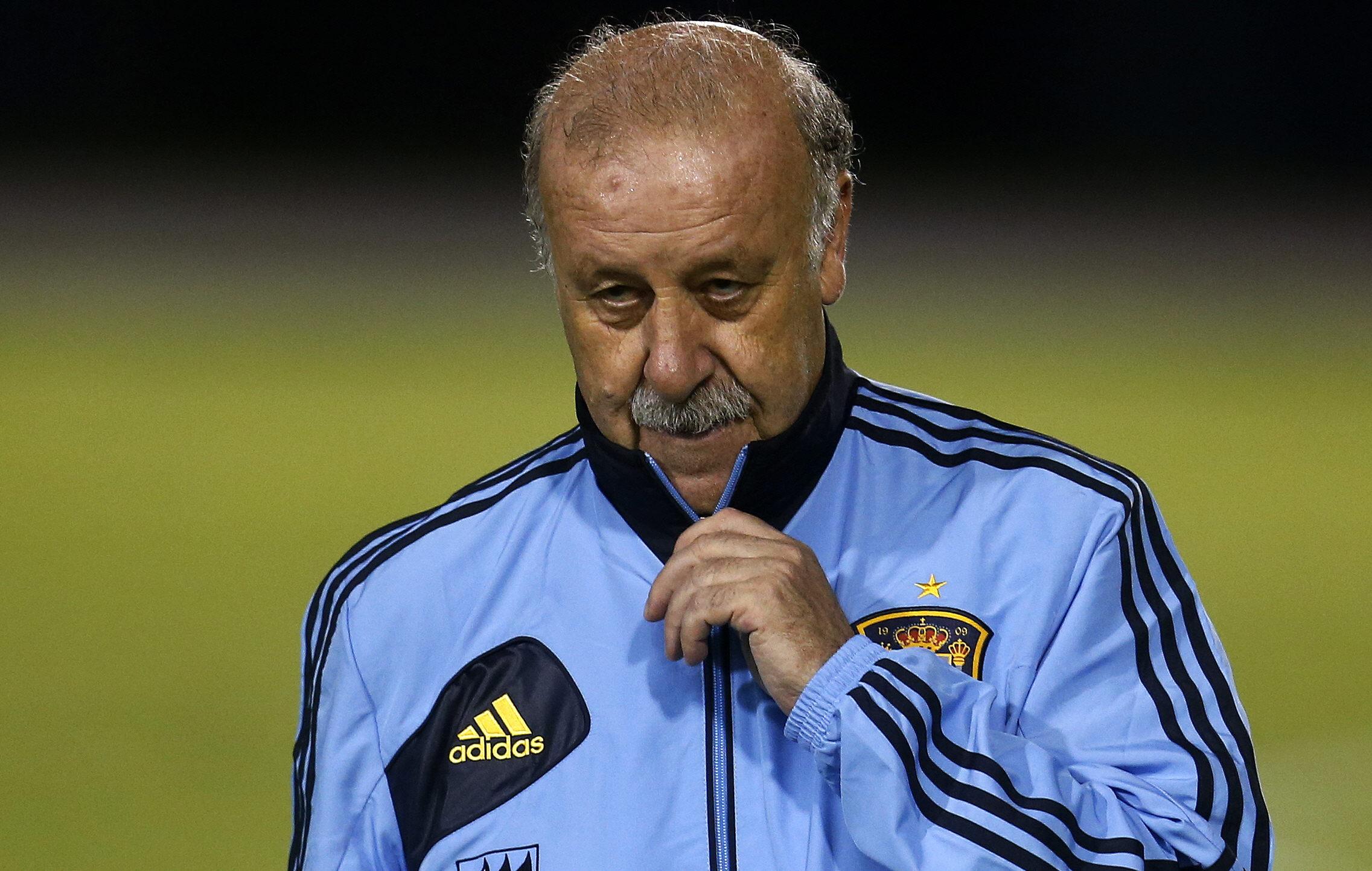 Vicente del Bosque no pone excusas: «Ellos han sido mejores y nos han superado»