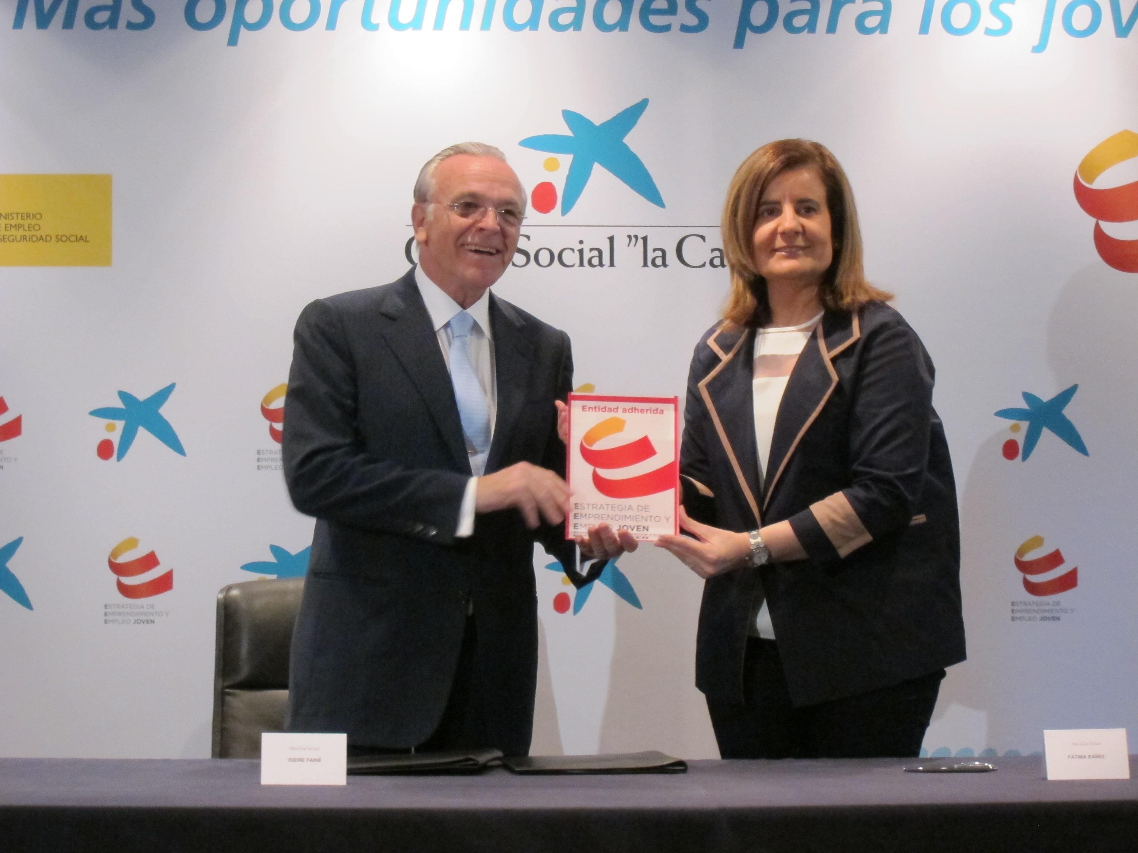 La Caixa destinará 6 millones de euros para crear 10000. empleos «jóvenes»