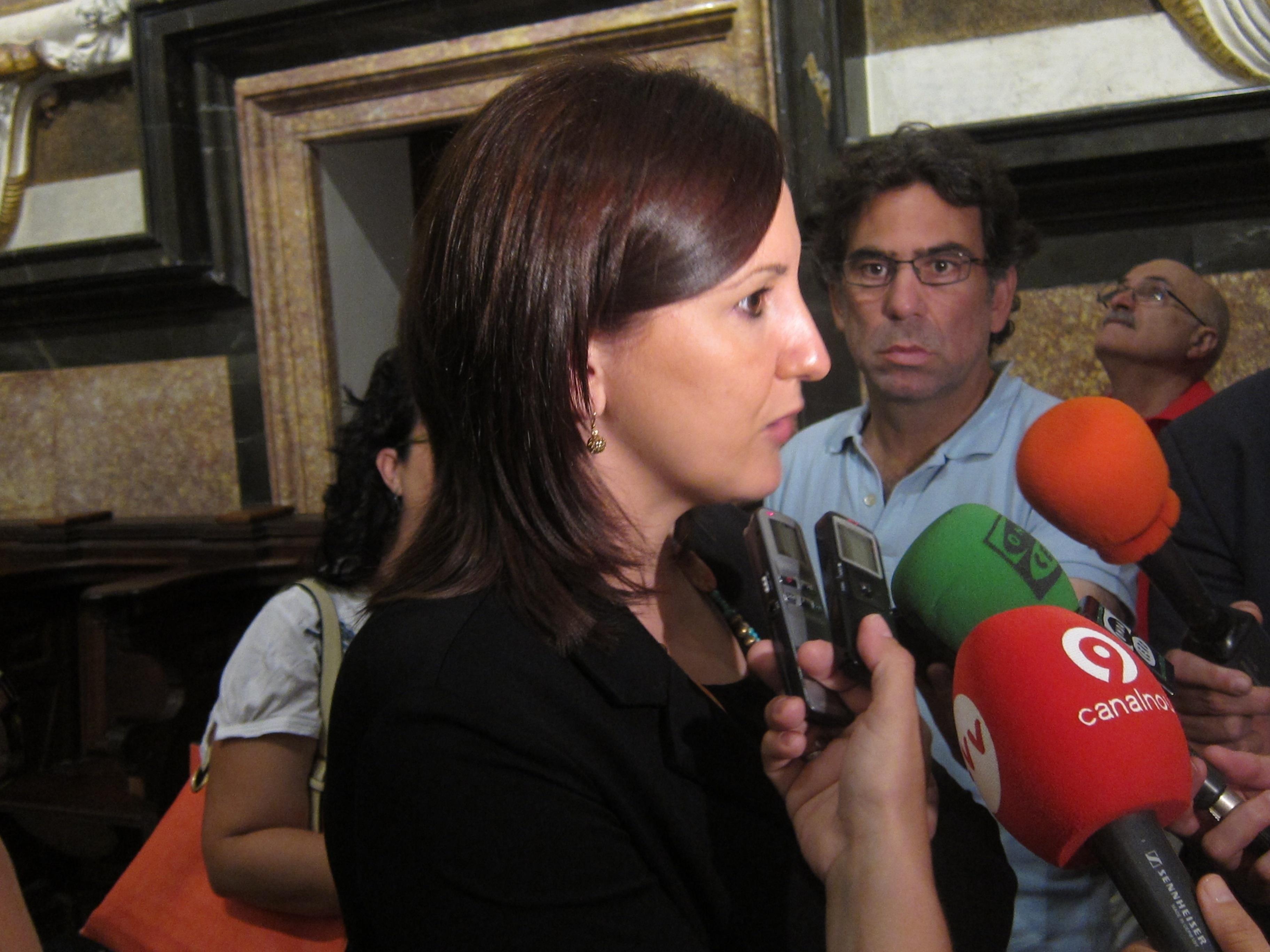 Català expresa su «máximo respeto» a las protestas de interinos y asegura que volverán a ser contratados en septiembre