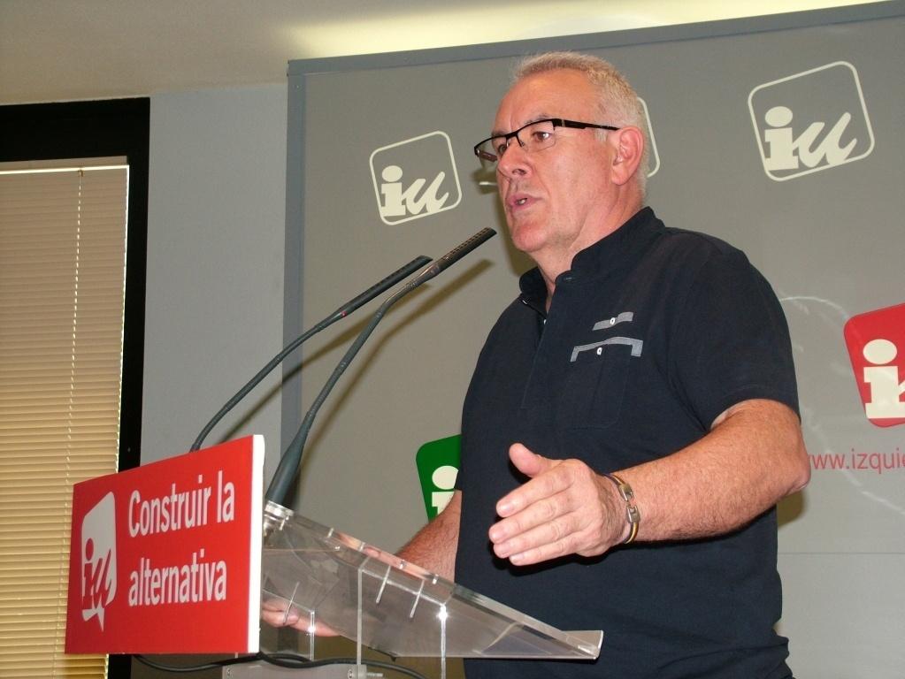 Cayo Lara defiende la existencia de una izquierda española en Cataluña