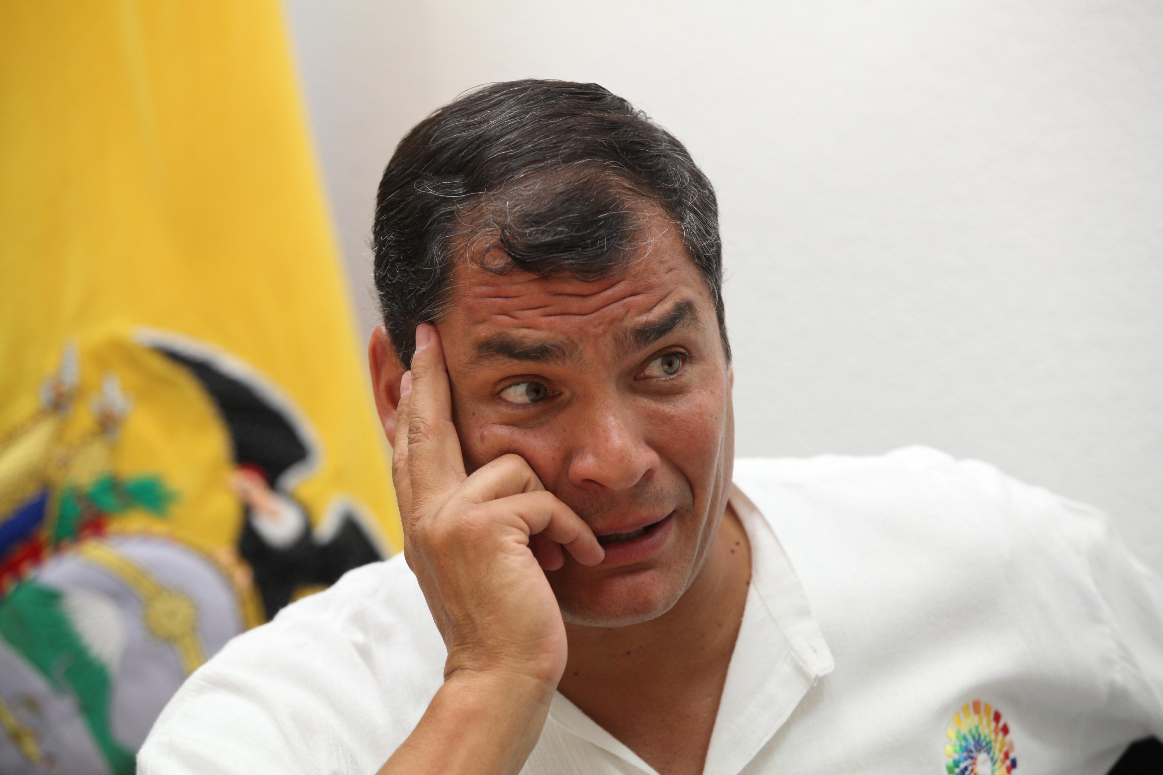 Correa: «El verdadero problema no es Snowden, sino lo que denunció»