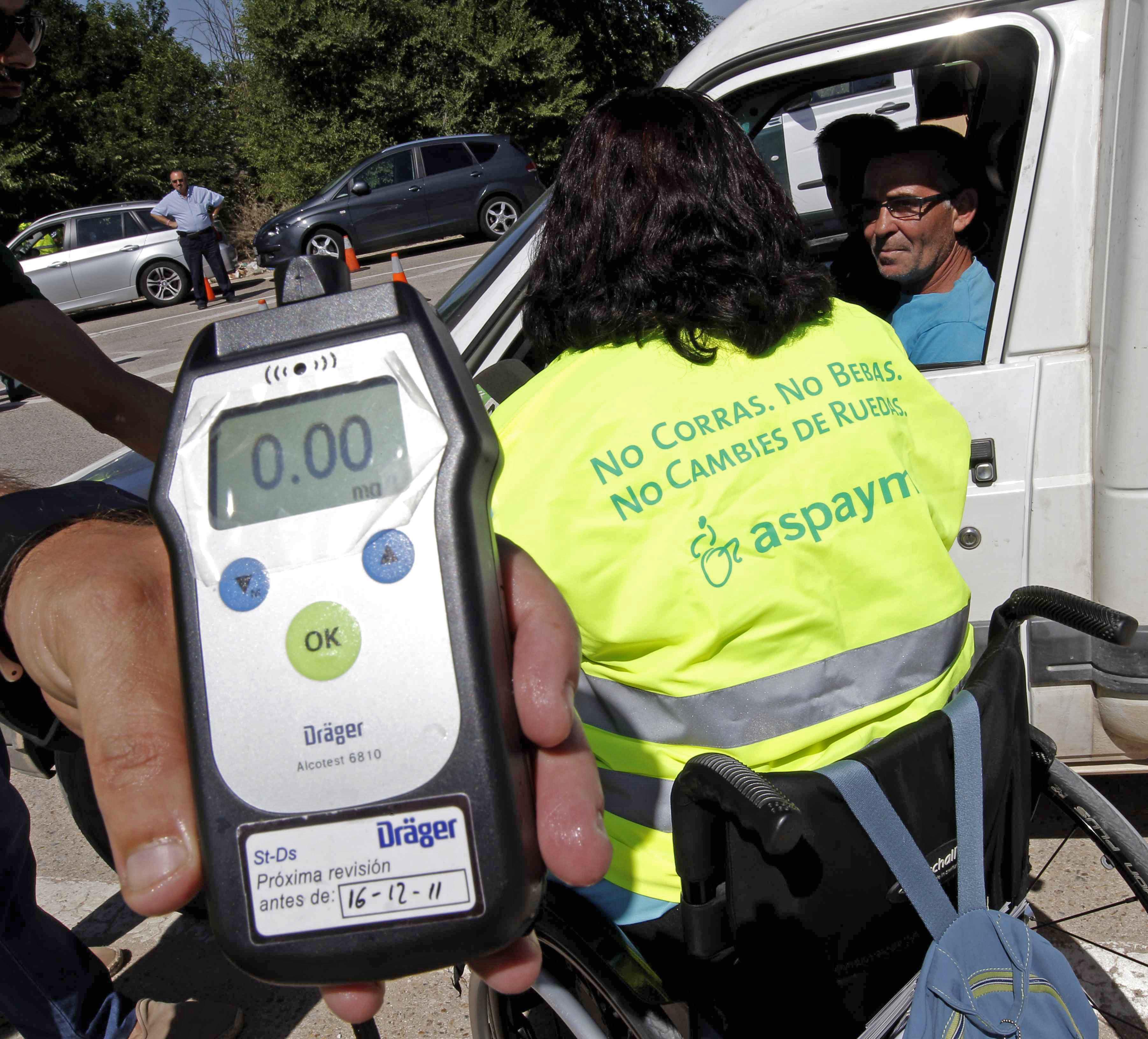 Detenido un conductor que superaba más de cinco veces la tasa de alcoholemia