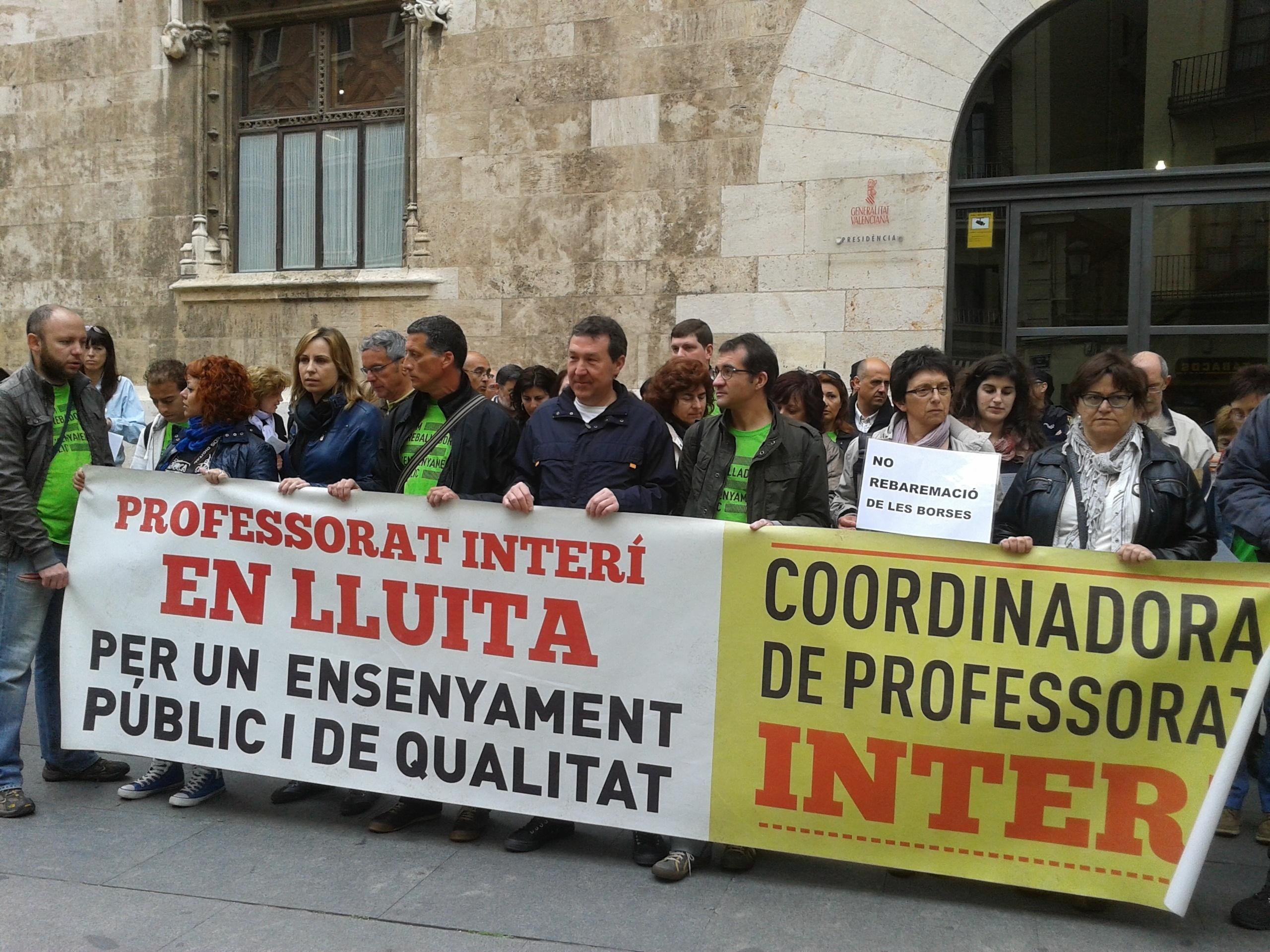 Docentes protestarán este lunes contra el cese a 30 de junio de interinos con vacante