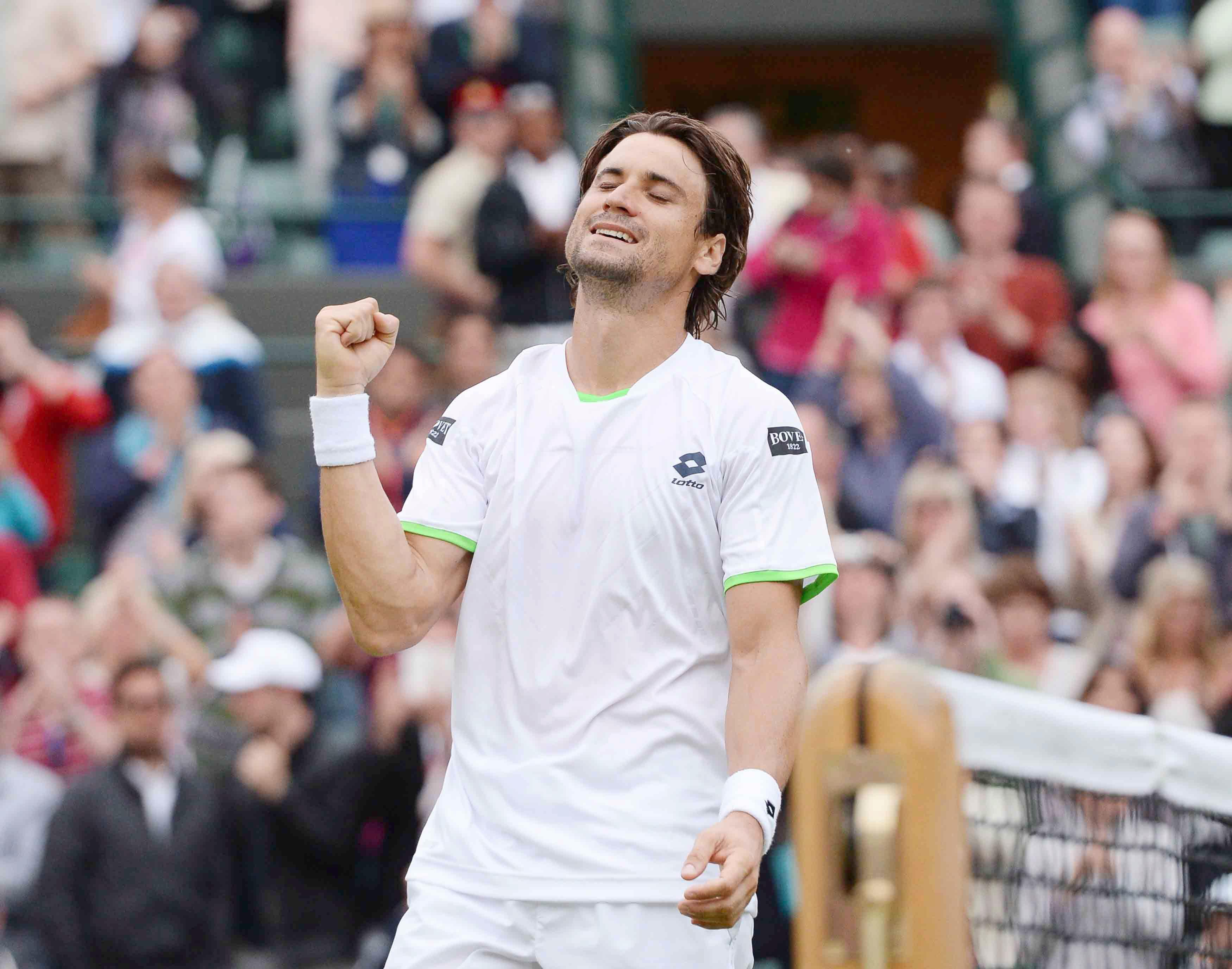 Ferrer agota al croata Dodig y estará en los cuartos de Wimbledon