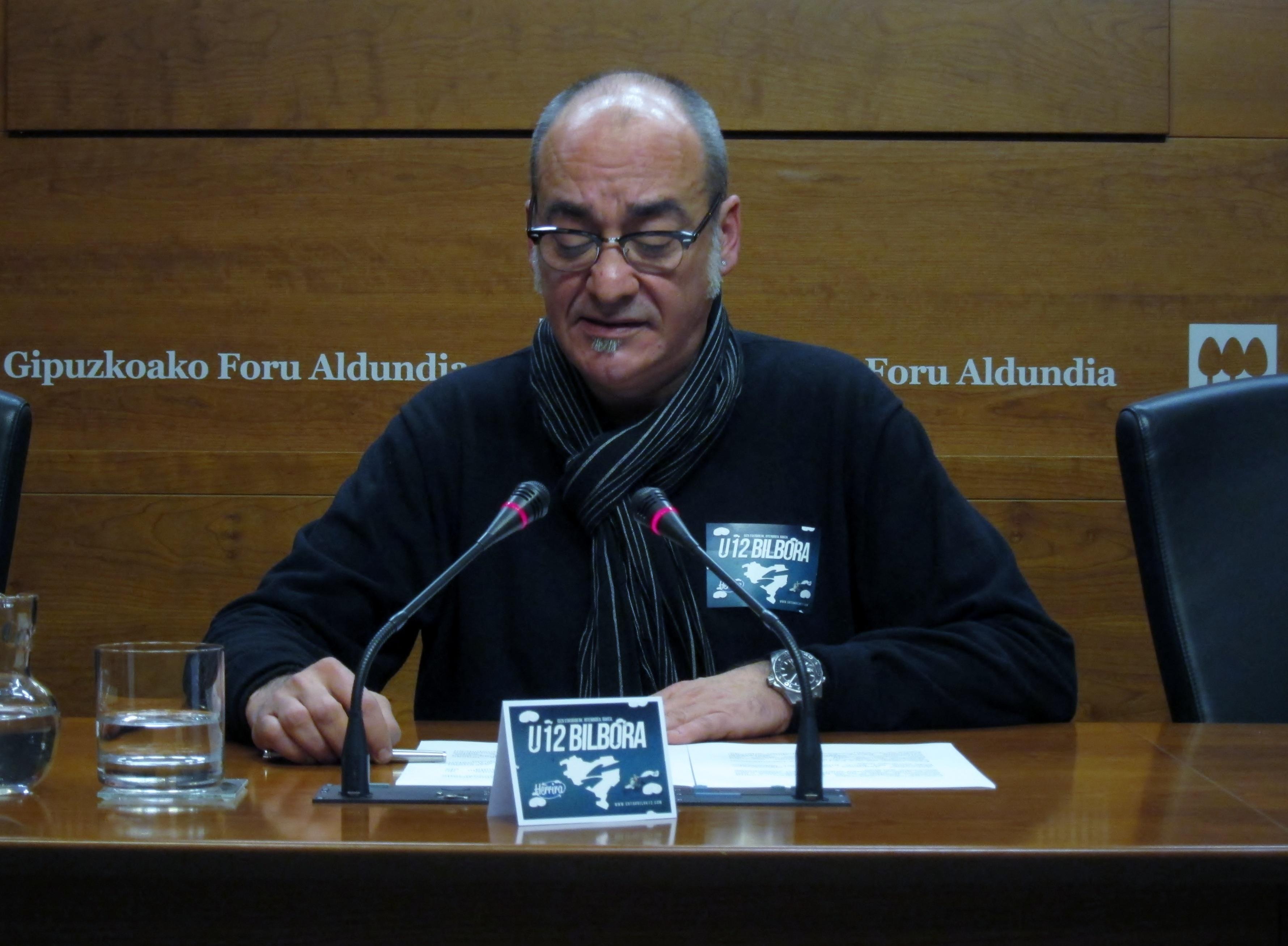 Garitano dice que la sociedad vasca no entiende que en el actual «proceso de normalización» haya «700 presos políticos»