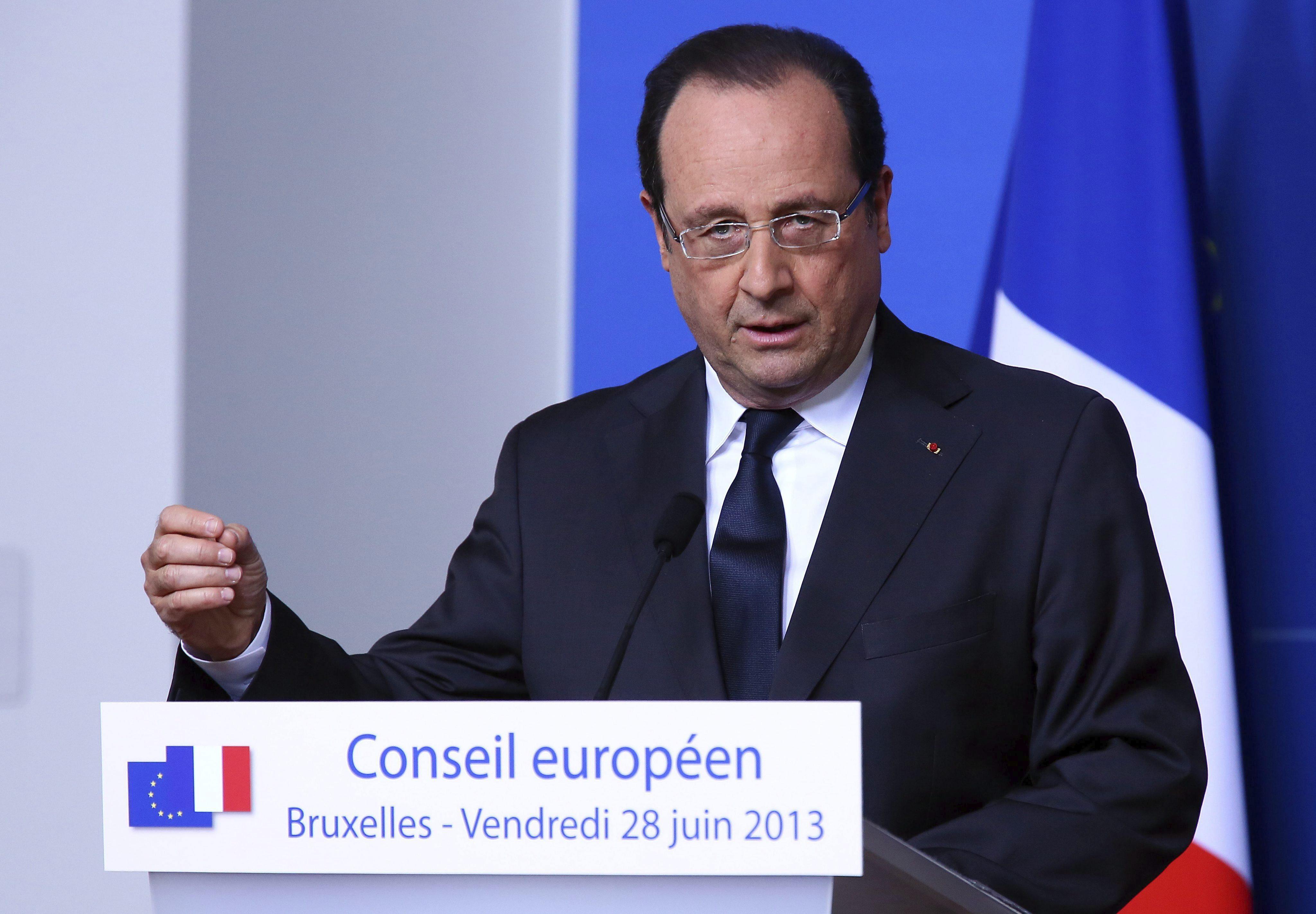 Hollande exige el cese inmediato del espionaje «inaceptable» de EEUU