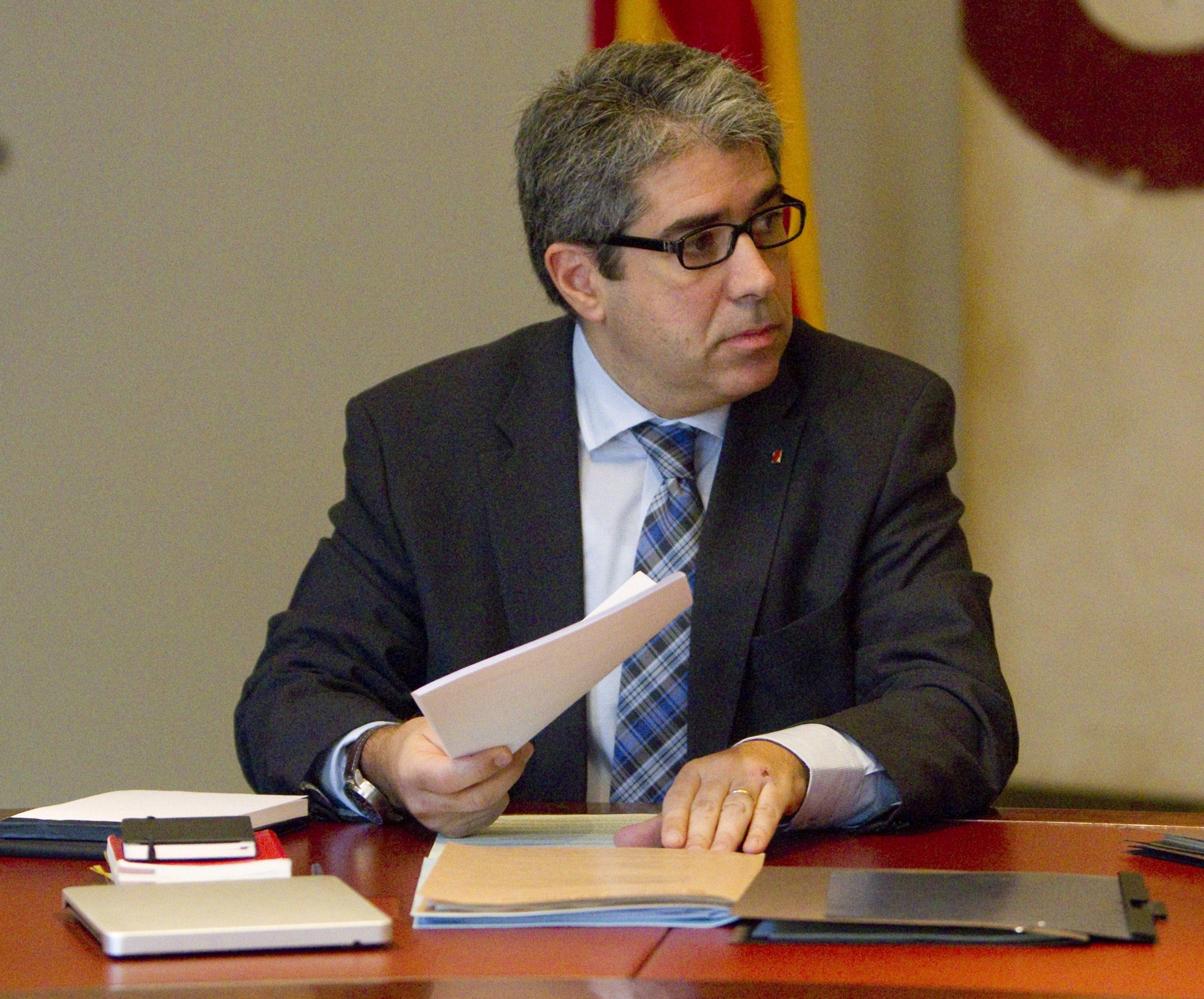 Homs afirma que «la política española no puede dar la espalda indefinidamente a Cataluña»