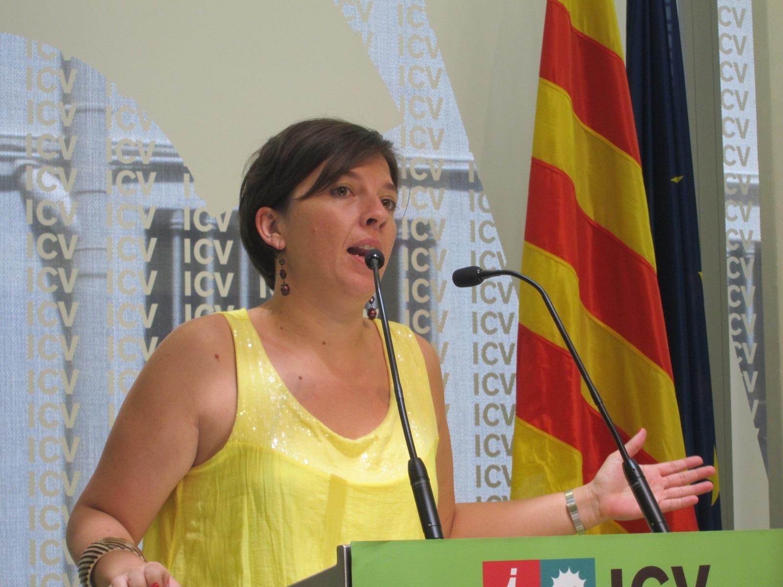 ICV asume que el Concert per la Llibertat exige a los partidos un esfuerzo por el »derecho a decidir»