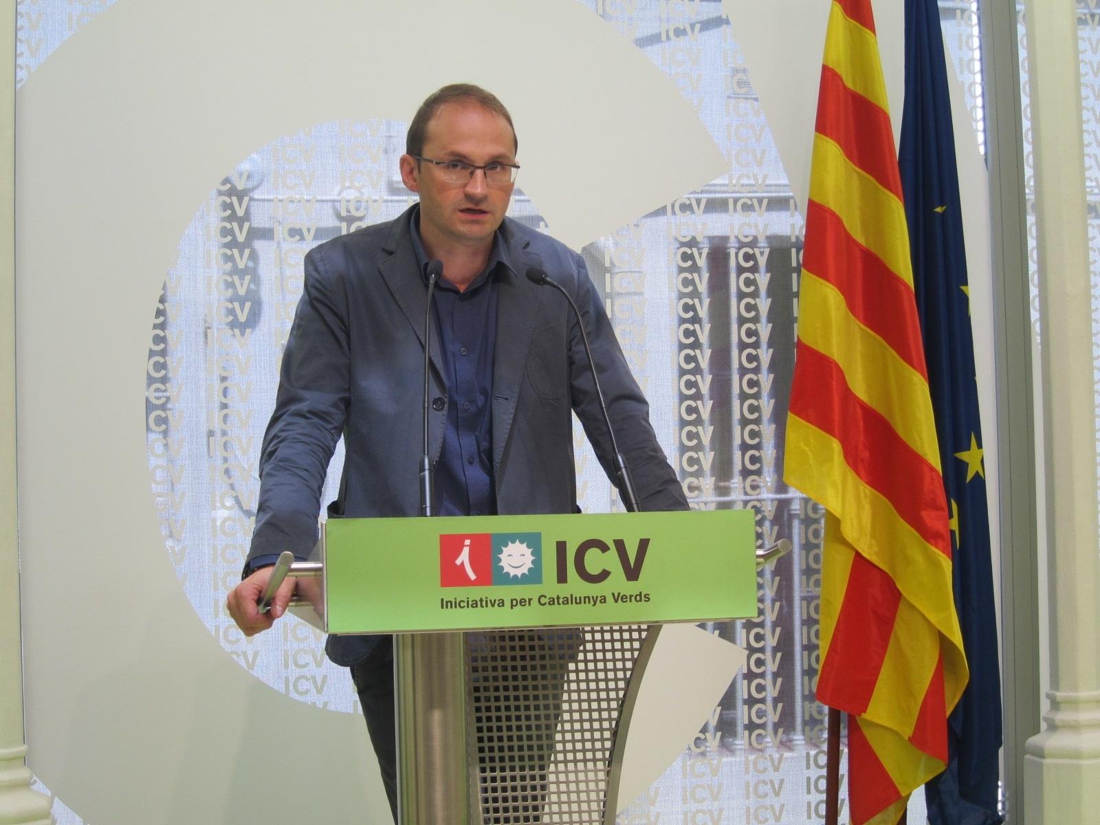 ICV propone reformar la ley de referéndums a los partidarios de la consulta