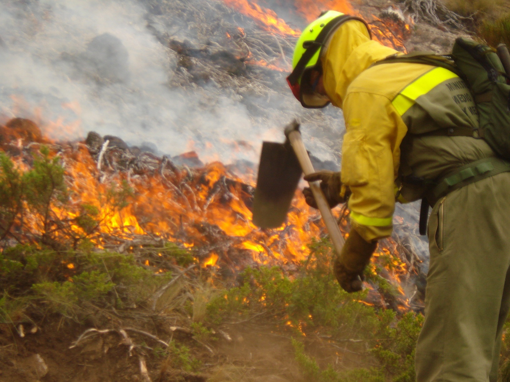 Ingenieros de Montes celebran menor riesgo de incendios tras las lluvias