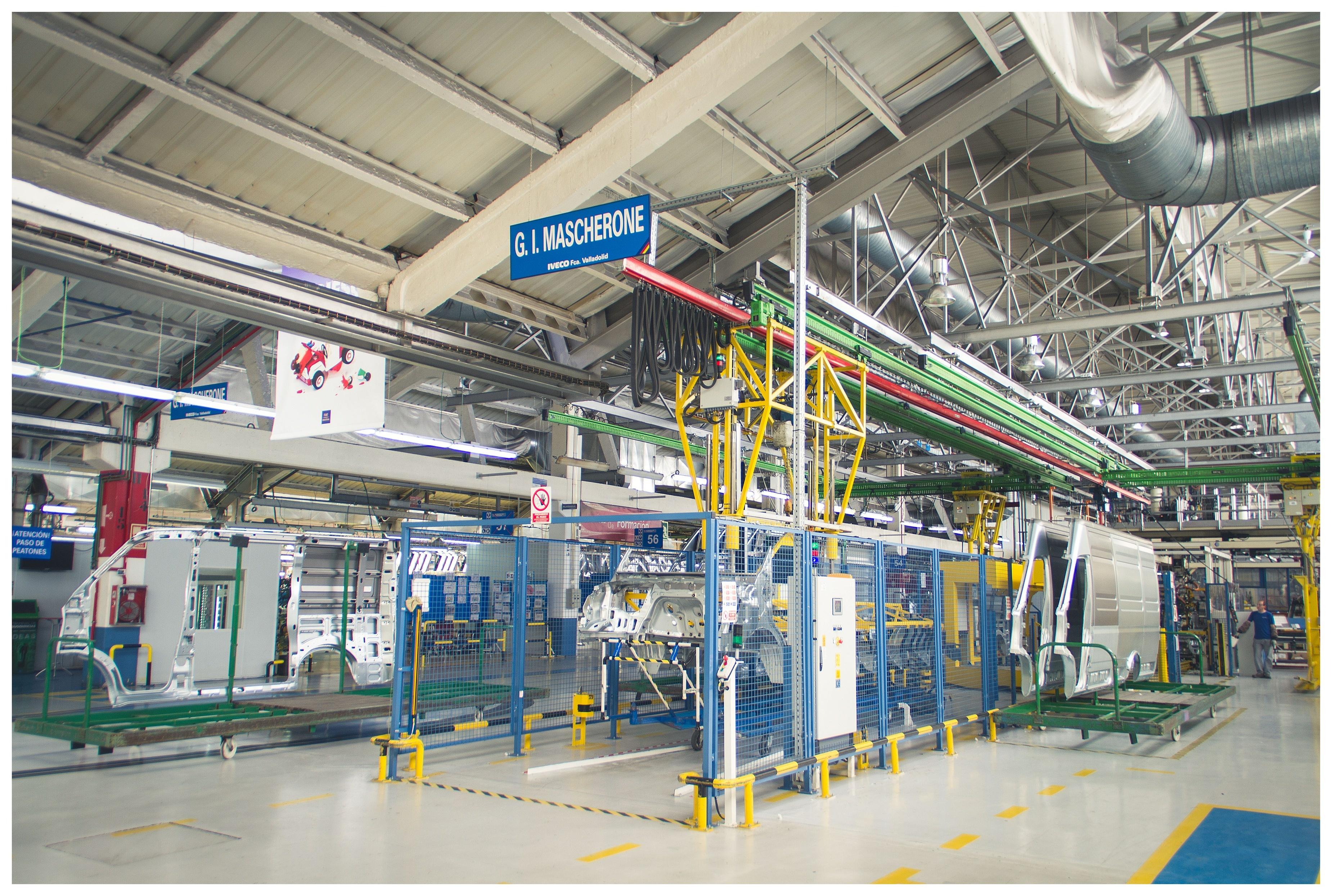 Iveco invertirá 15 millones en la factoría de Valladolid con un plan industrial para fabricar el chasis del nuevo Daily